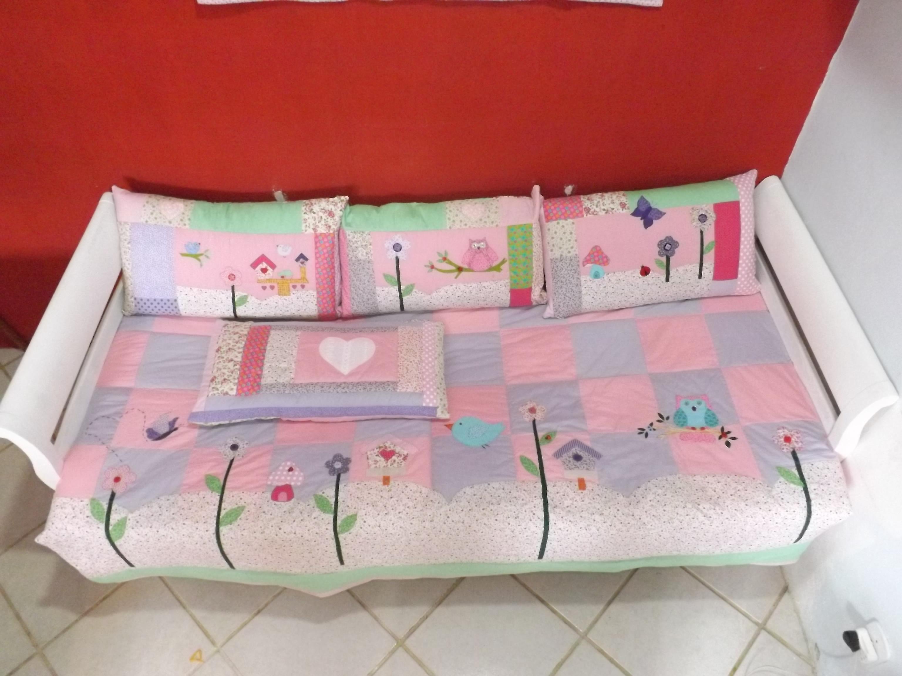 Kit cama de menina coruja fazendo coisas elo7 - Cama de coche para nino ...