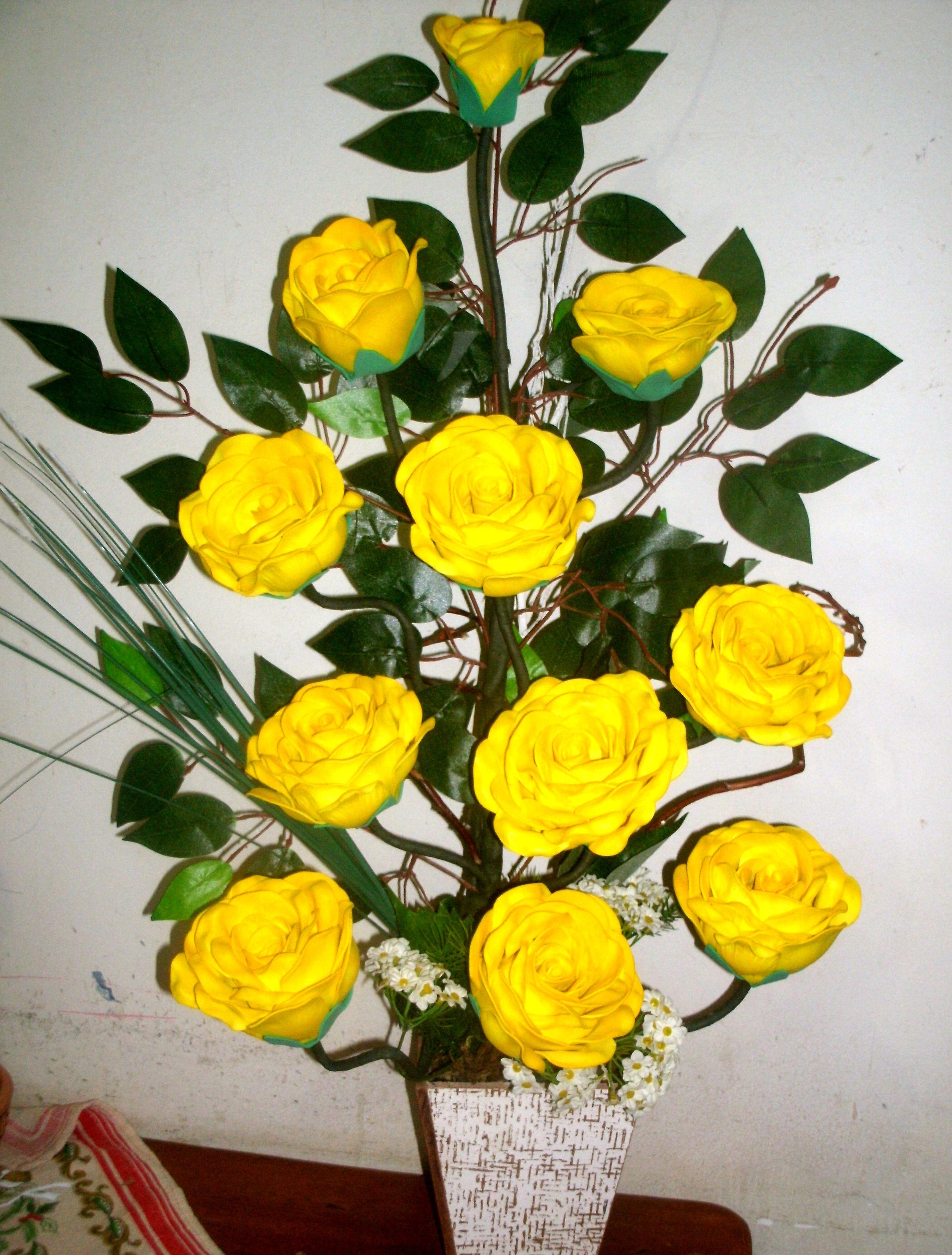 Rosas Amarelas No Elo7 Flores Shalon 389807