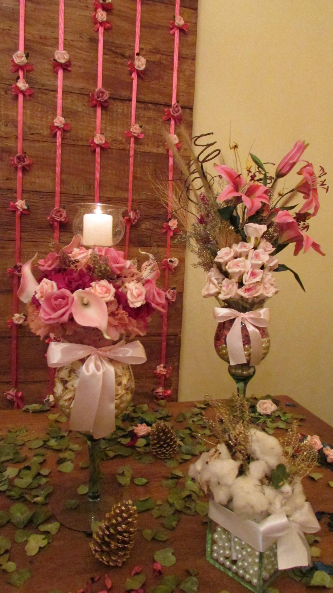 Fotos de vasos de flores naturais 31