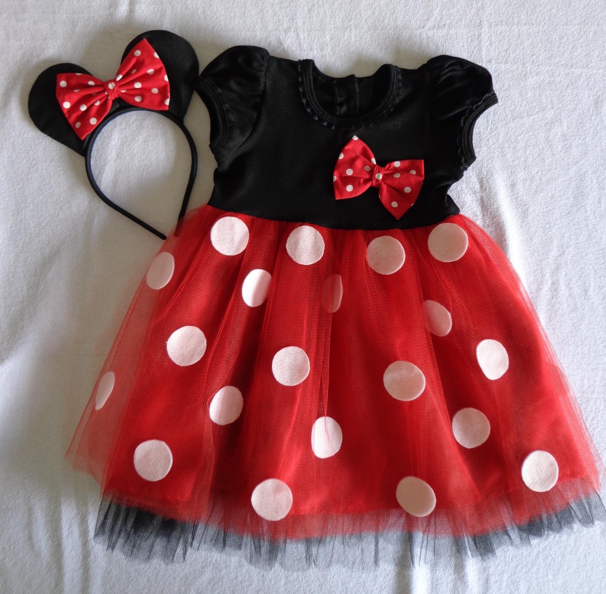 Convite Vestido Da Minnie Elo7