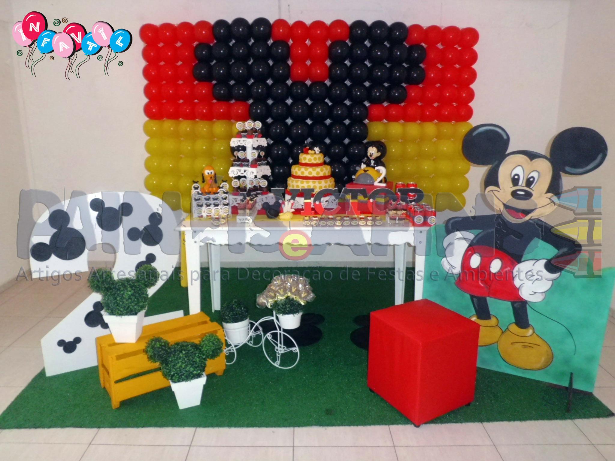 6b42ee724 Estojo de feltro Mickey Mouse no Elo7 | Ateliê de Decoração Painéis e Afins  (390E28)