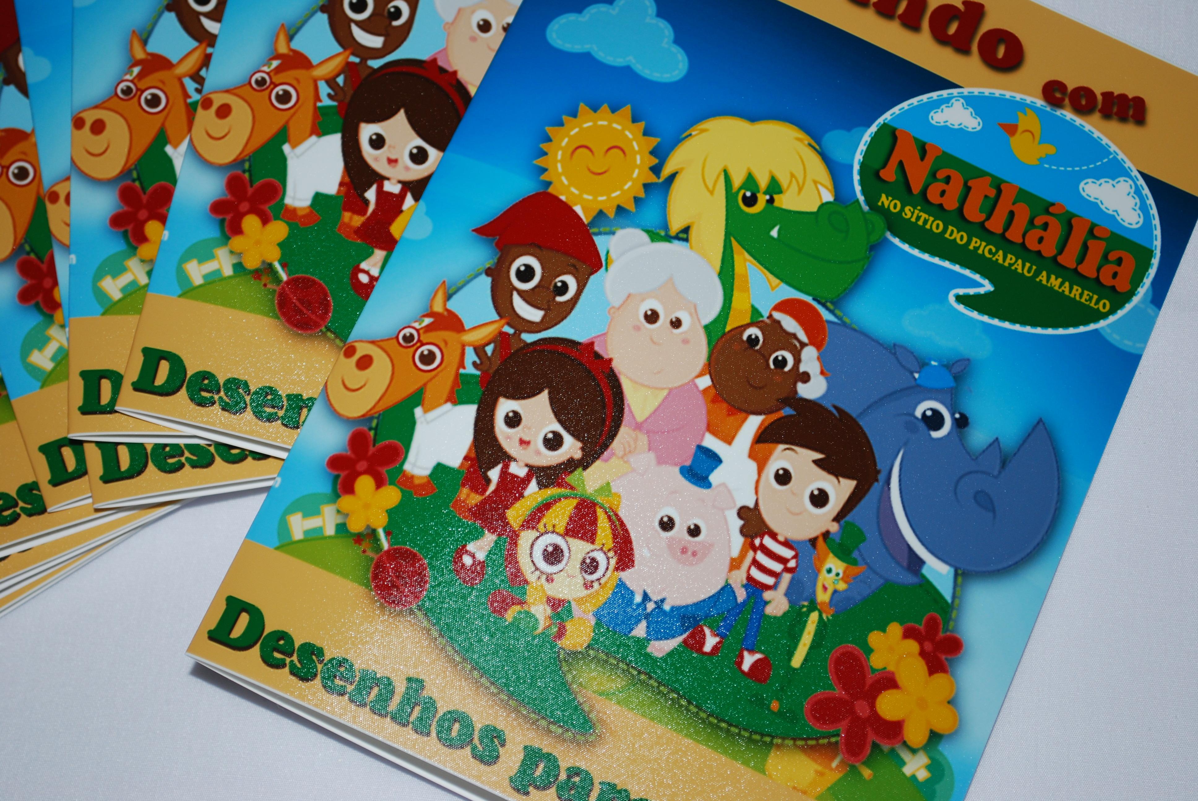 Kit Colorir Sitio Do Picapau Amarelo No Elo7 Gabs Art 390f77