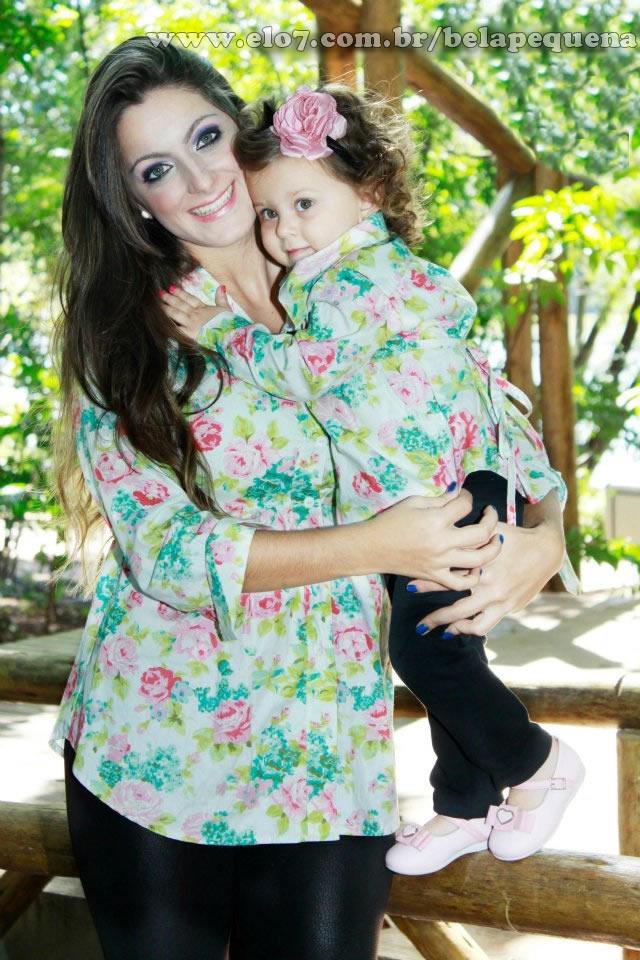 6154e29cc8ea26 Camisas mãe e filha