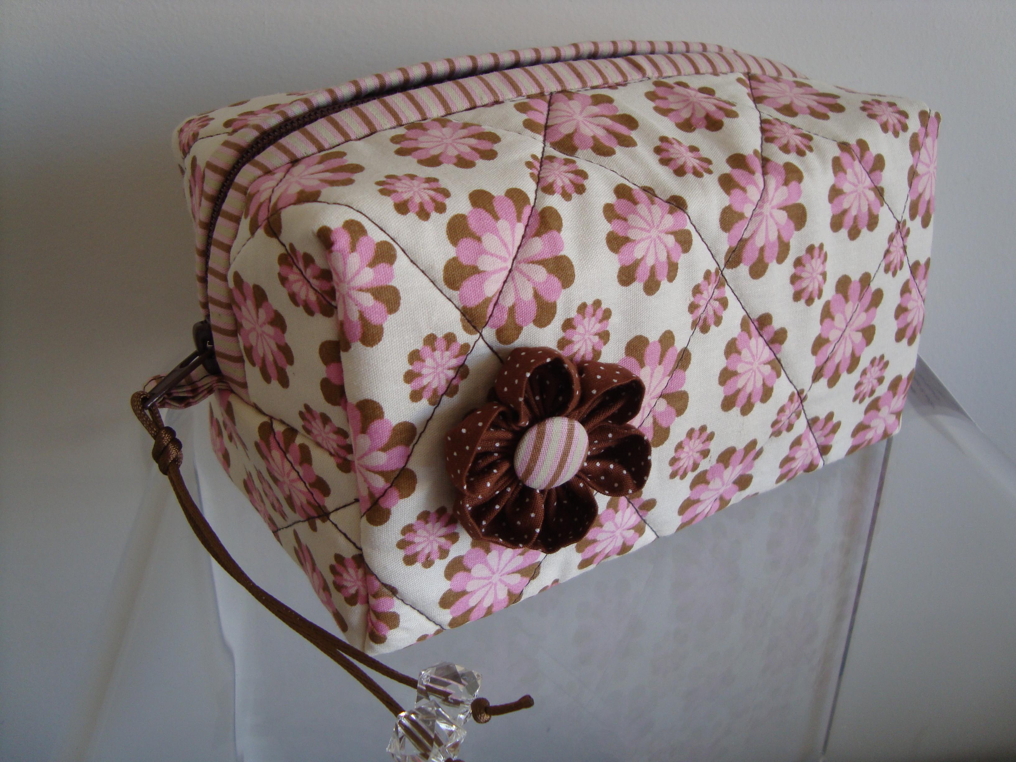 Bolsa De Tecido Quiltada : Molde de bolsa tecido necessaire camila camomila