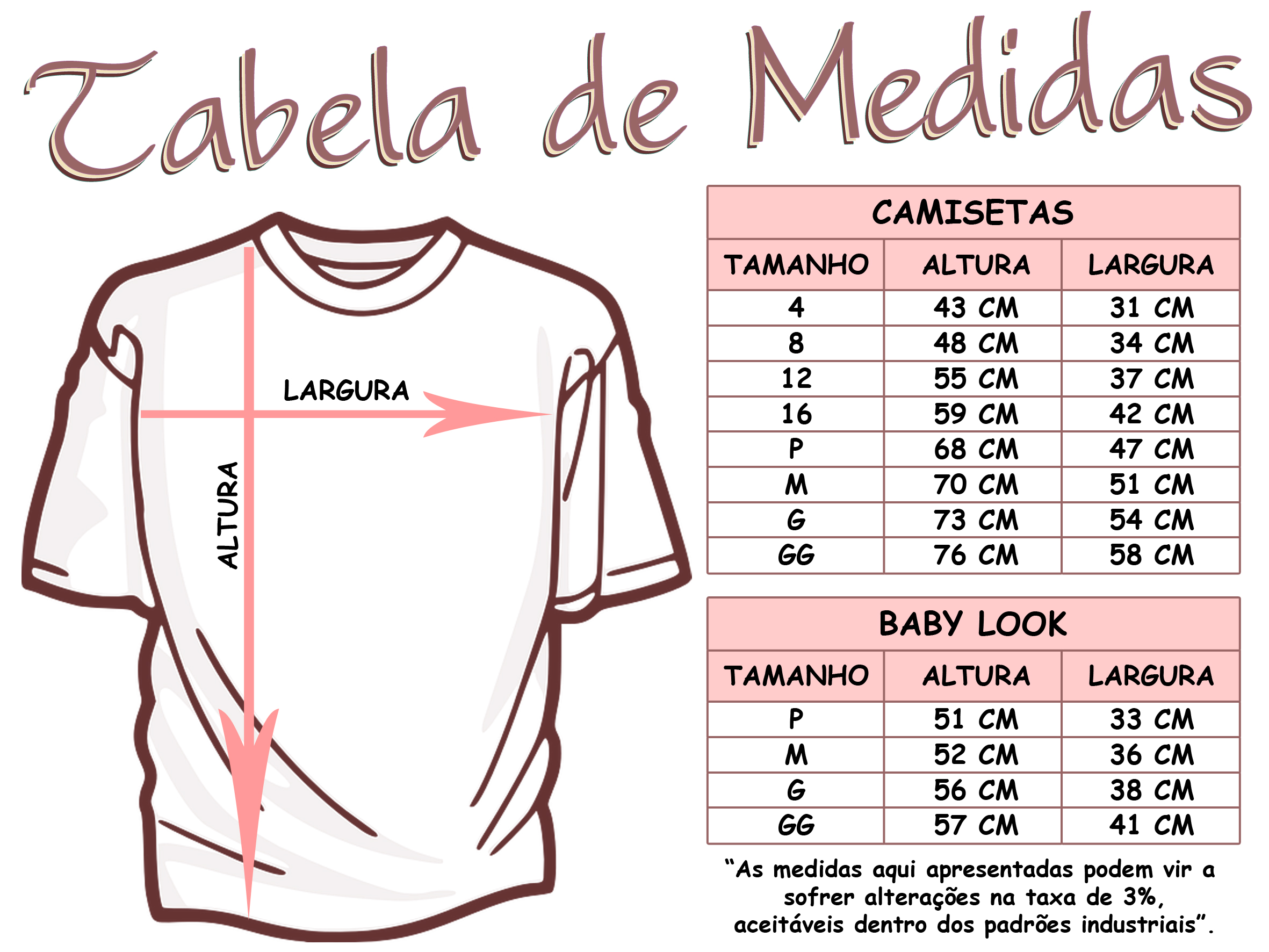 84db8afeaa3262 Camiseta Branca Personalizada M! no Elo7 | S3 Art Design (3999A1)