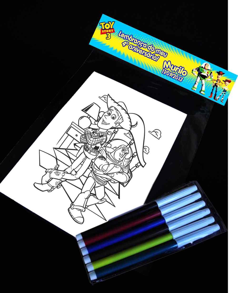 Revista Kit De Colorir Toy Story Elo7