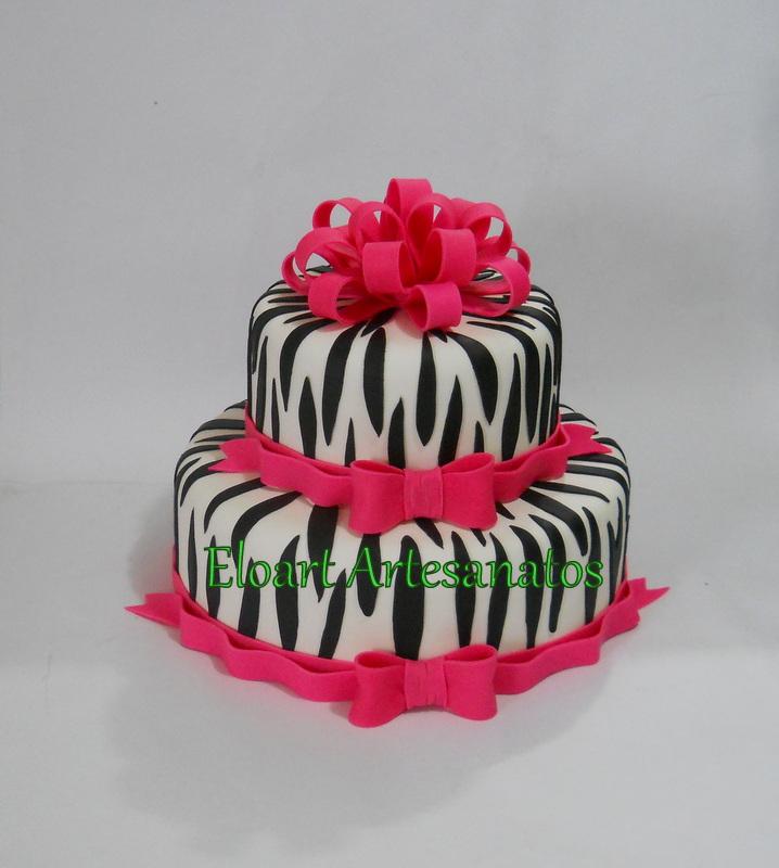 Populares Bolo Zebra | Elo7 GR64