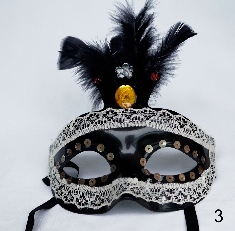 M scaras de carnaval decoradas madame vintage elo7 - Mascaras para carnaval ...