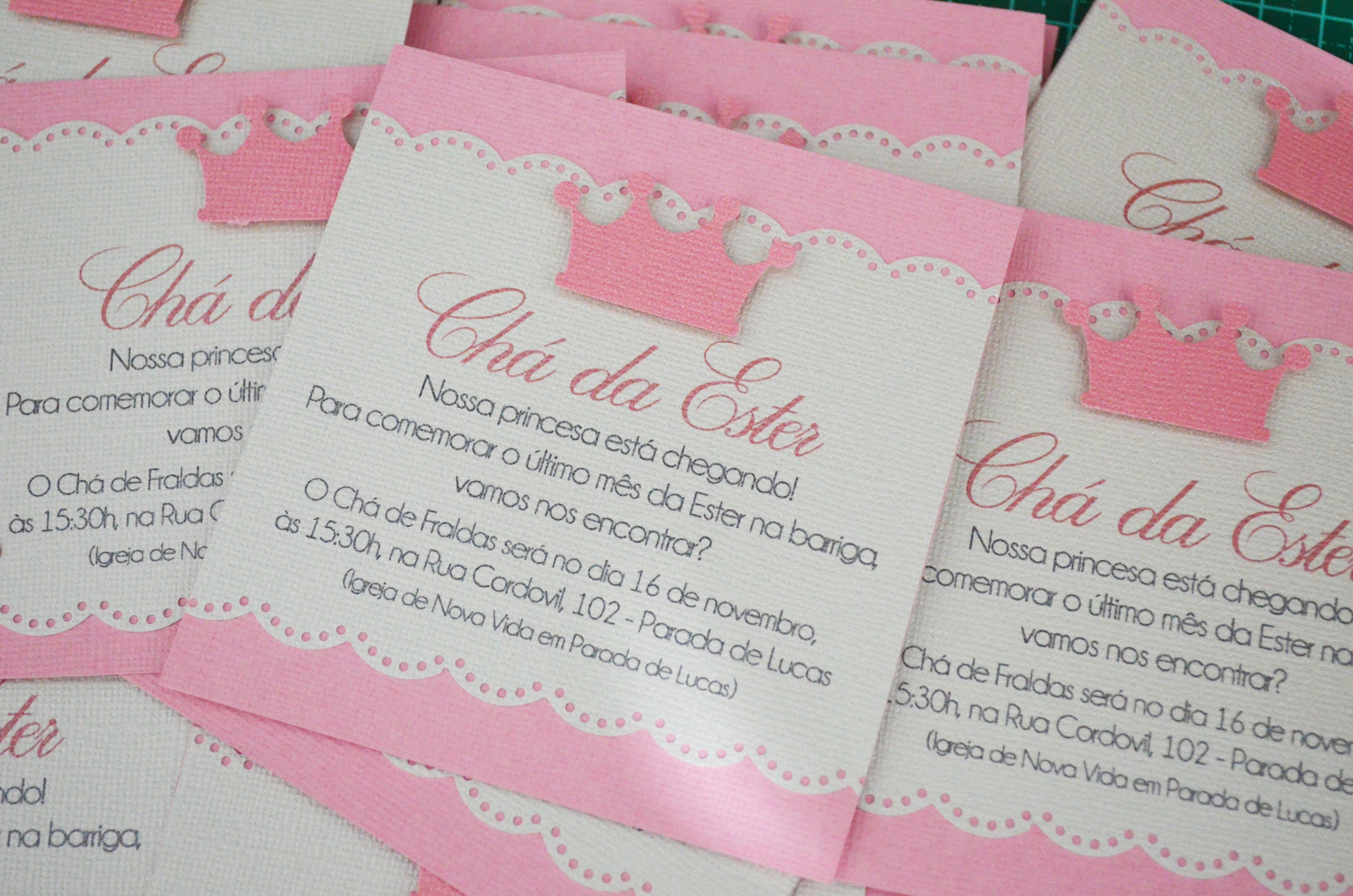 Convite Princesa No Elo7 Luluzinha Papelaria Personalizada 3b75a9