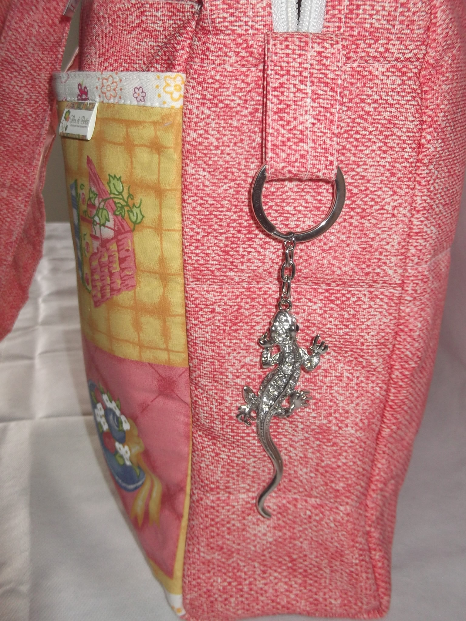 319c1c590 bolsa maternidade, rosa no Elo7 | Flor de Botåo (3BAD48)