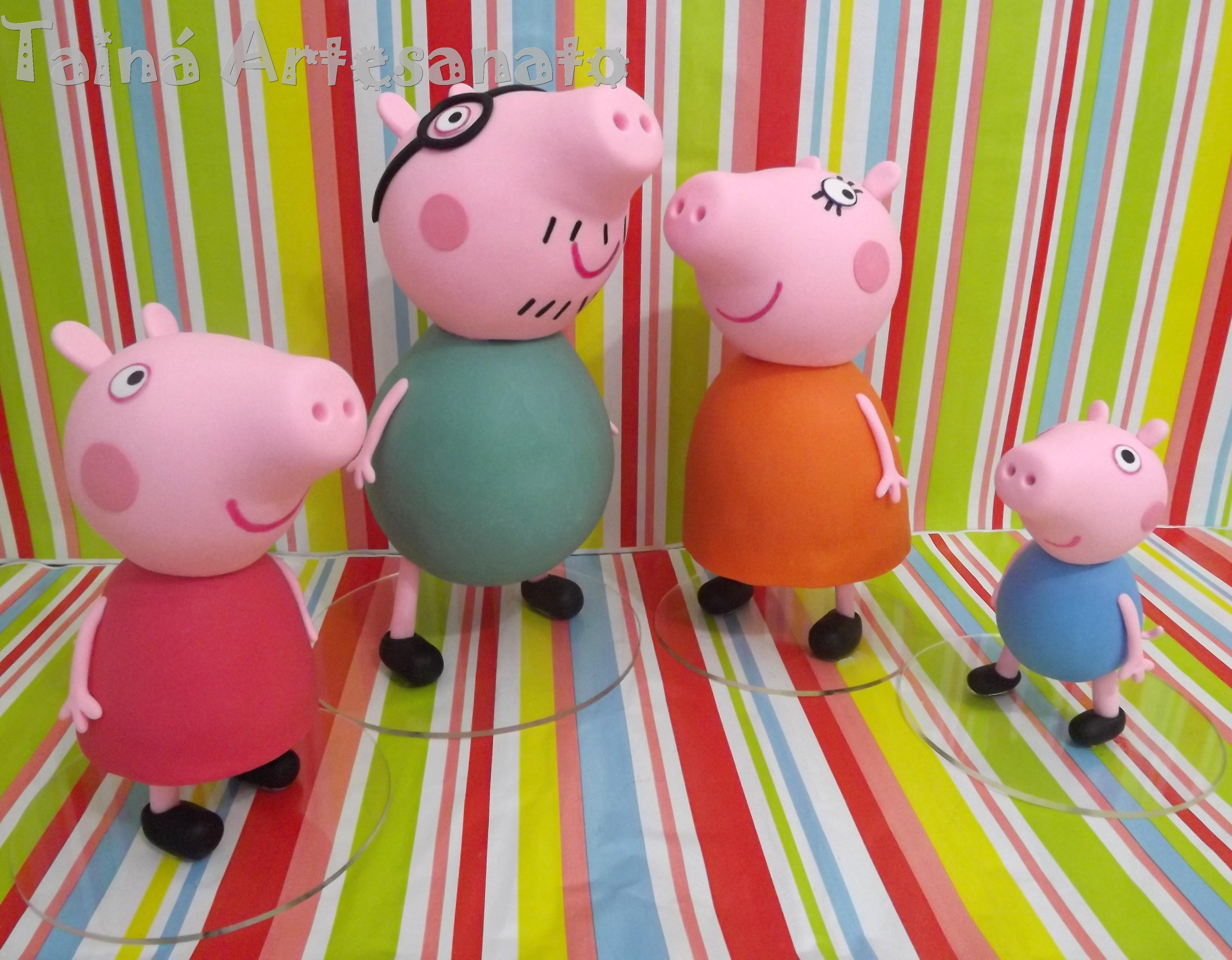 Familia Peppa Pig No Elo7 Taina Artesanato 3adcde