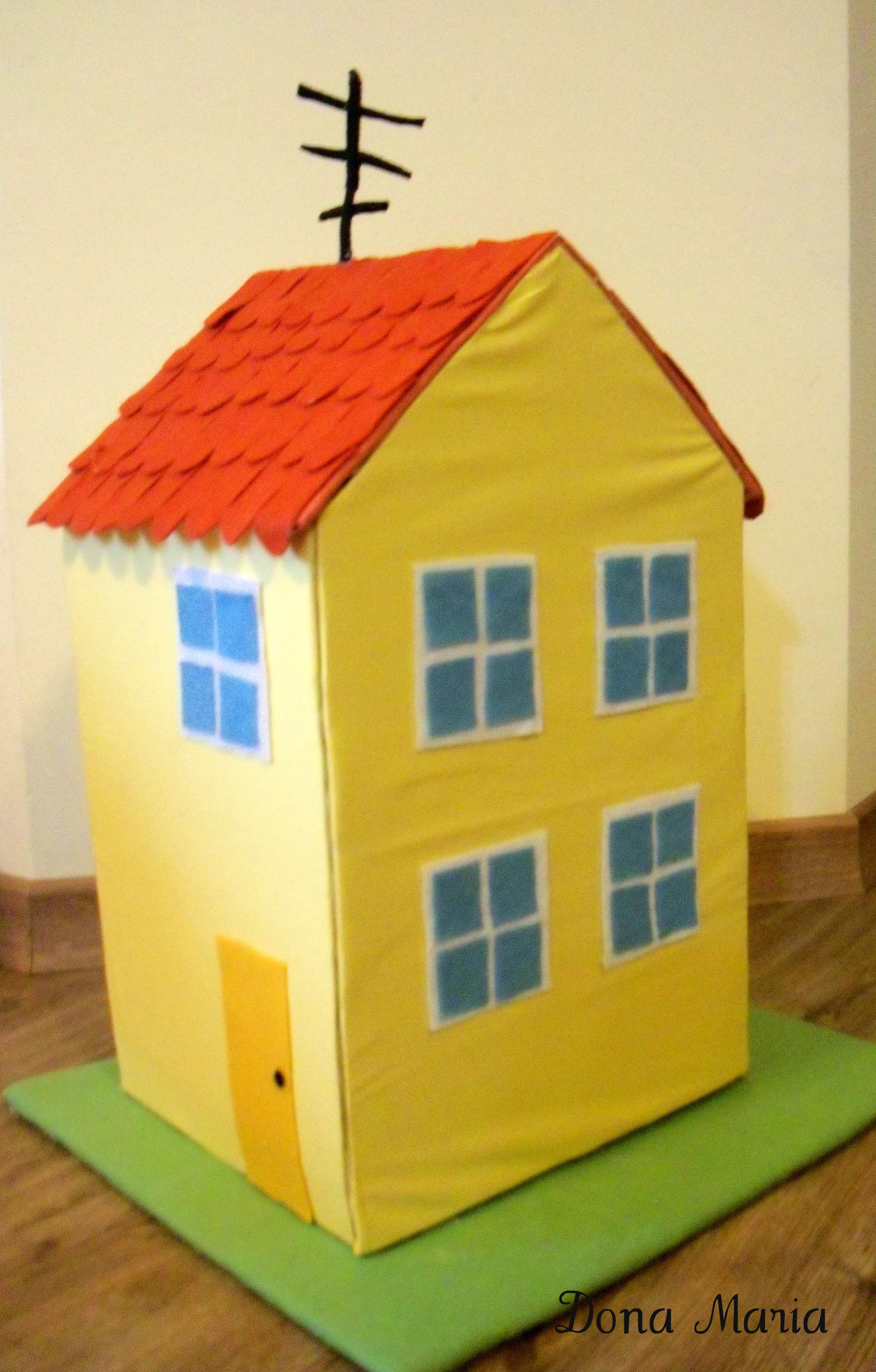 Casa peppa pig dona maria das artes elo7 - Casas embargadas la caixa ...