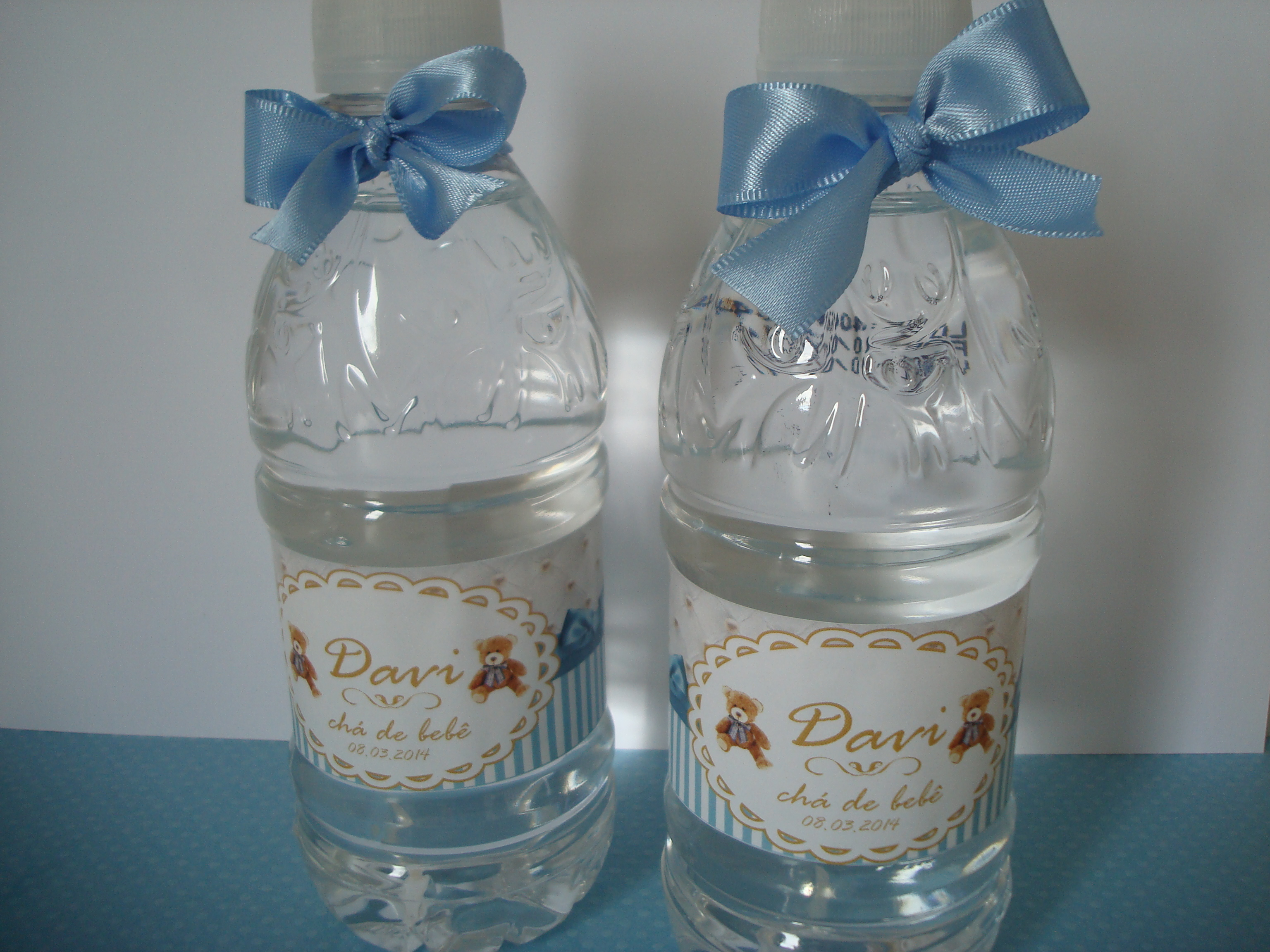 Garrafa De água Personalizada Ursinho No Elo7 Lilá Criando Ideias