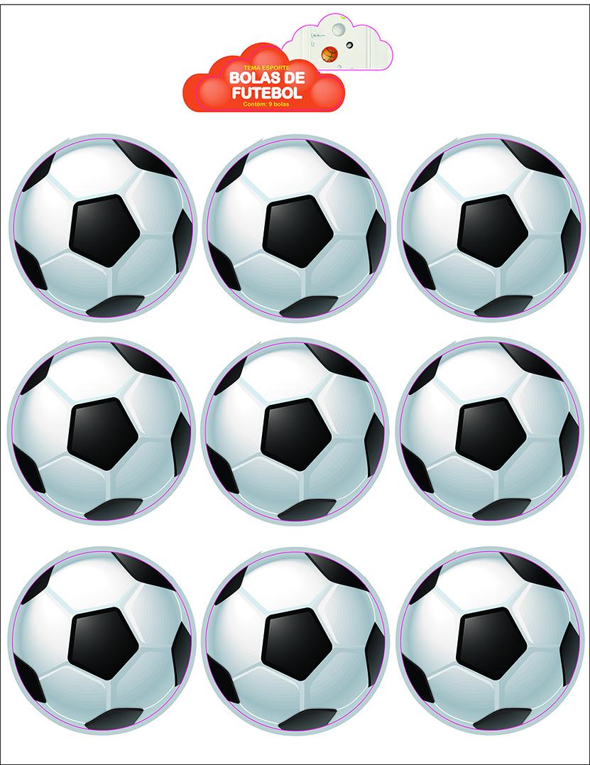 kit bola de futebol elo7