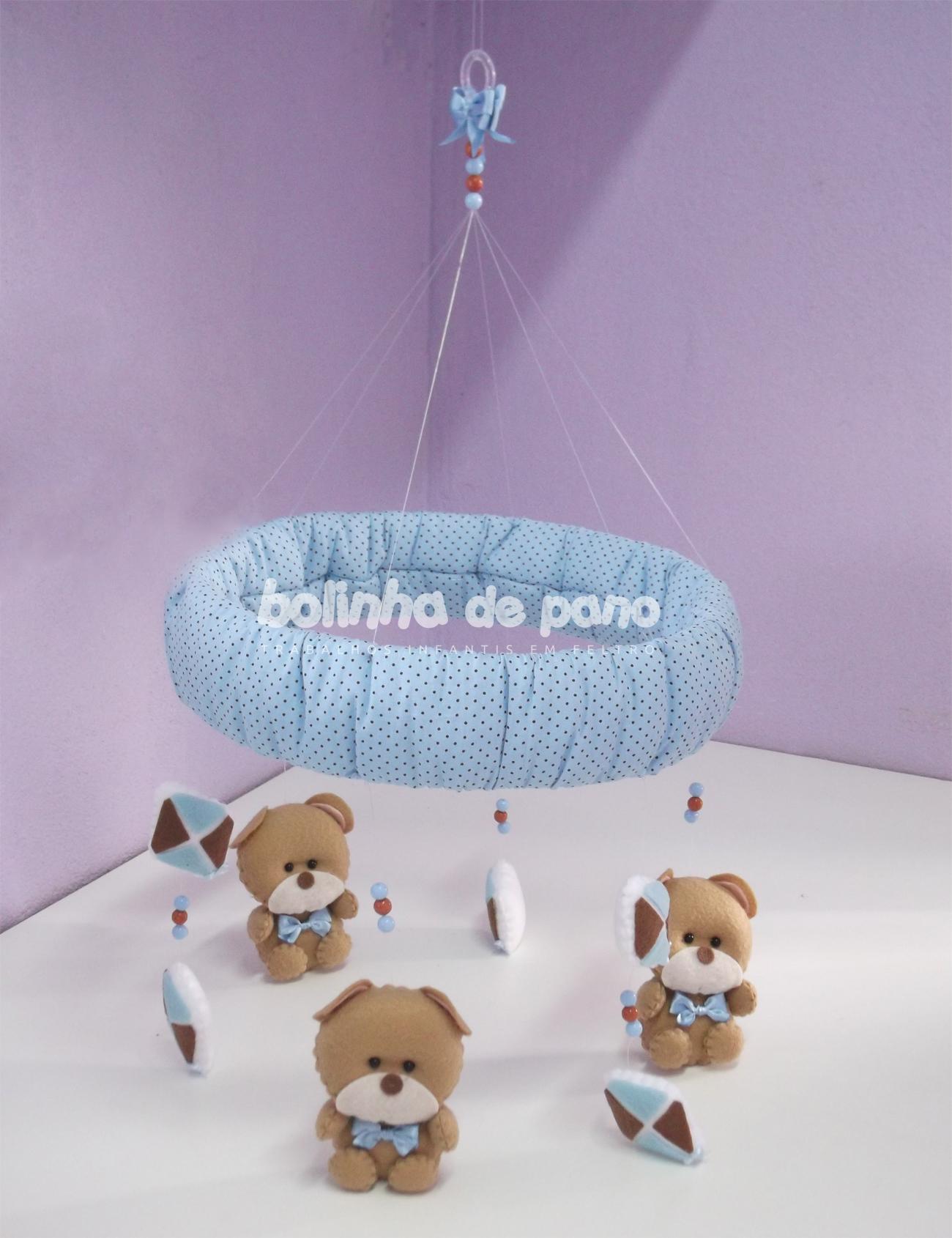 Móbile de Berço Urso com Pipas - 1064.8KB