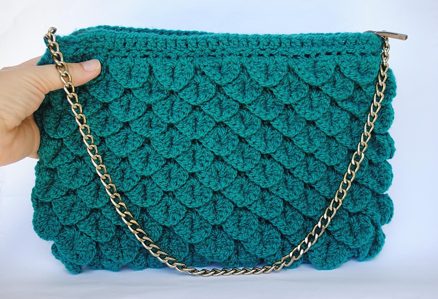 Bolsa De Festa Em Croche Passo A Passo : Bolsa de croch? as tramas da caru elo