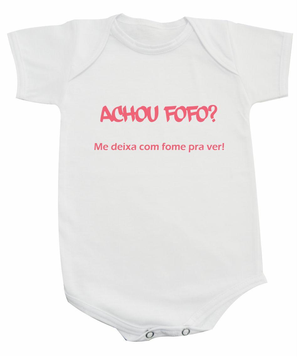 Achou Fofo Body Frases Personalizadas No Elo7 Moricato 3caf4c