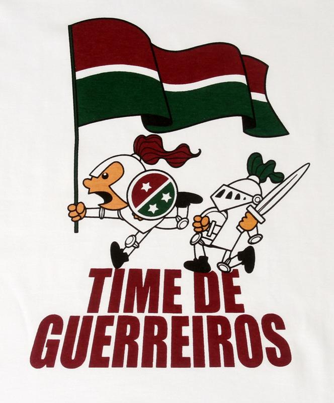 CAMISETA TIME DE GUERREIROS FLUMINENSE no Elo7  079aca34ae1de