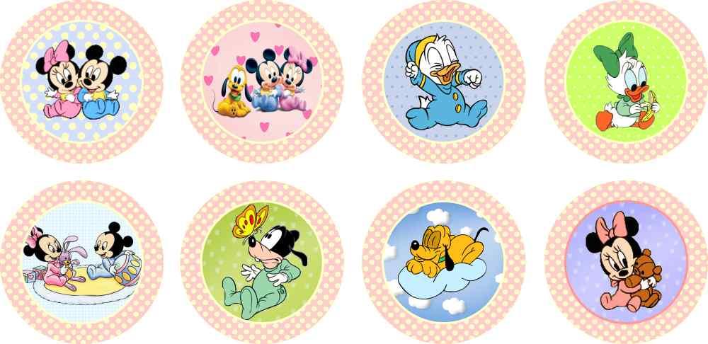Baby Disney 25 Topper Adesivo No Elo7 Marga Personalizados 3d9a01