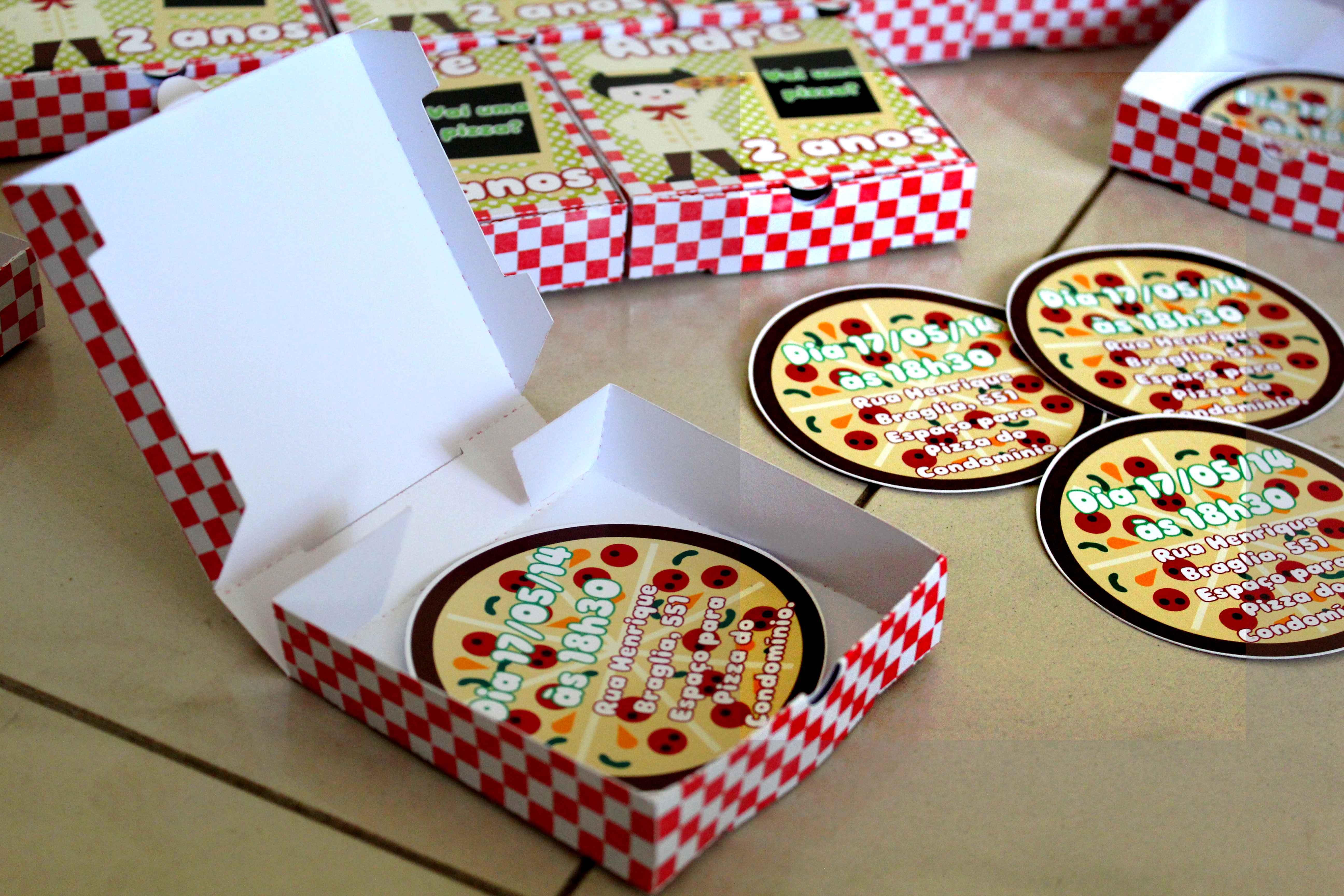 Convite pizza lugar incomum elo7 for Pizza original