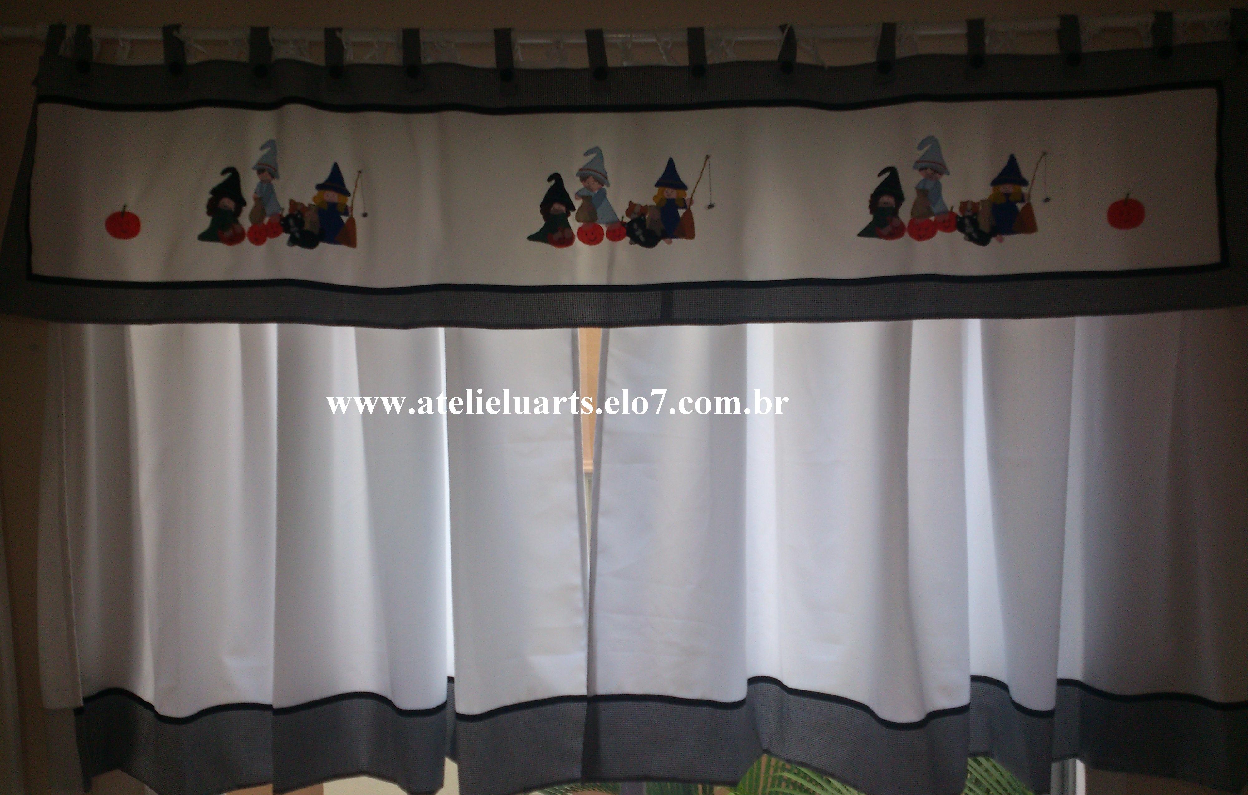 Image of: Cortina E Bando Para Cozinha No Elo7 Atelie Luarts 3db934
