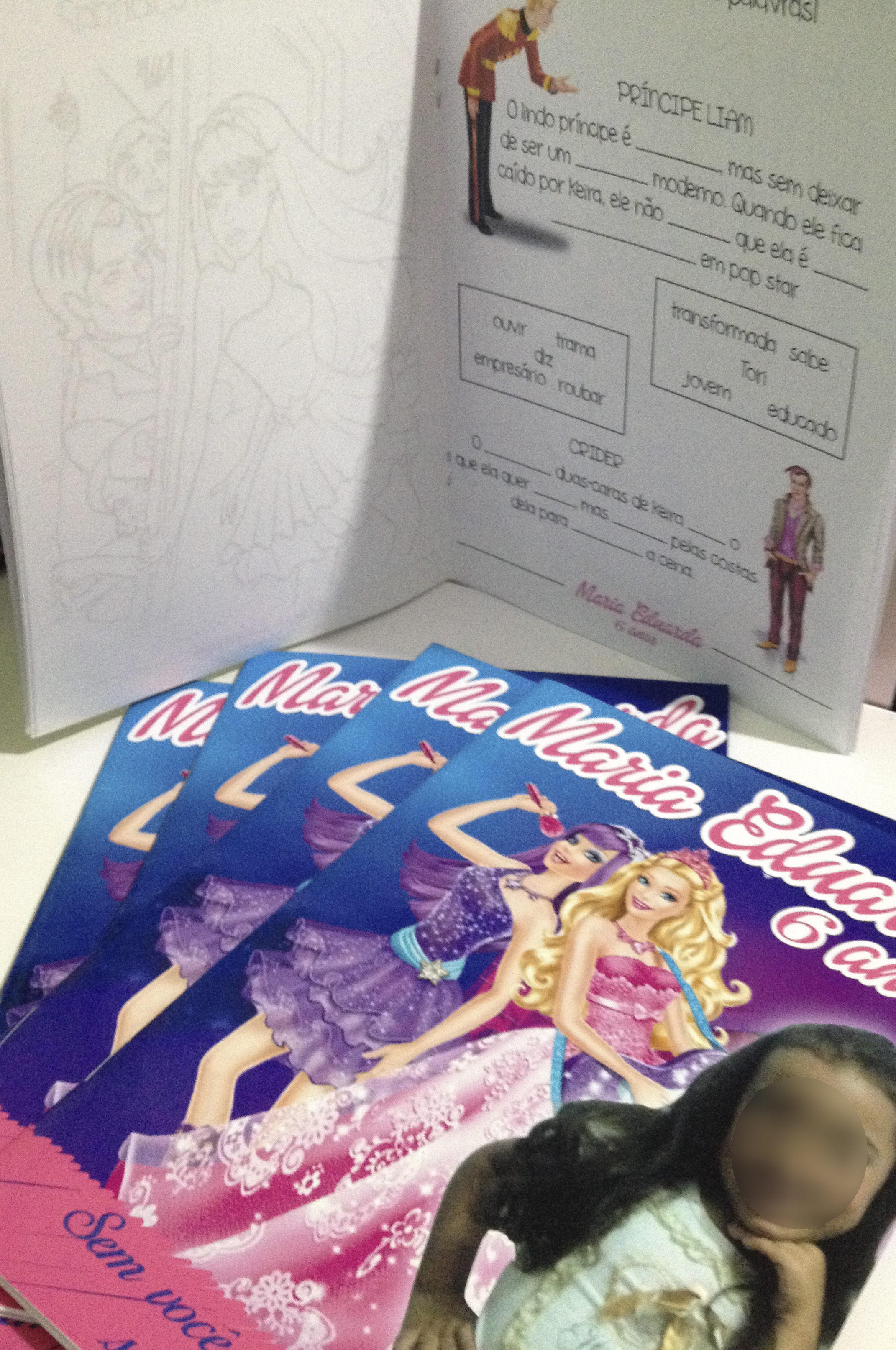 Kit De Colorir Barbie No Elo7 Dreamland Solucoes Criativas 3df68c