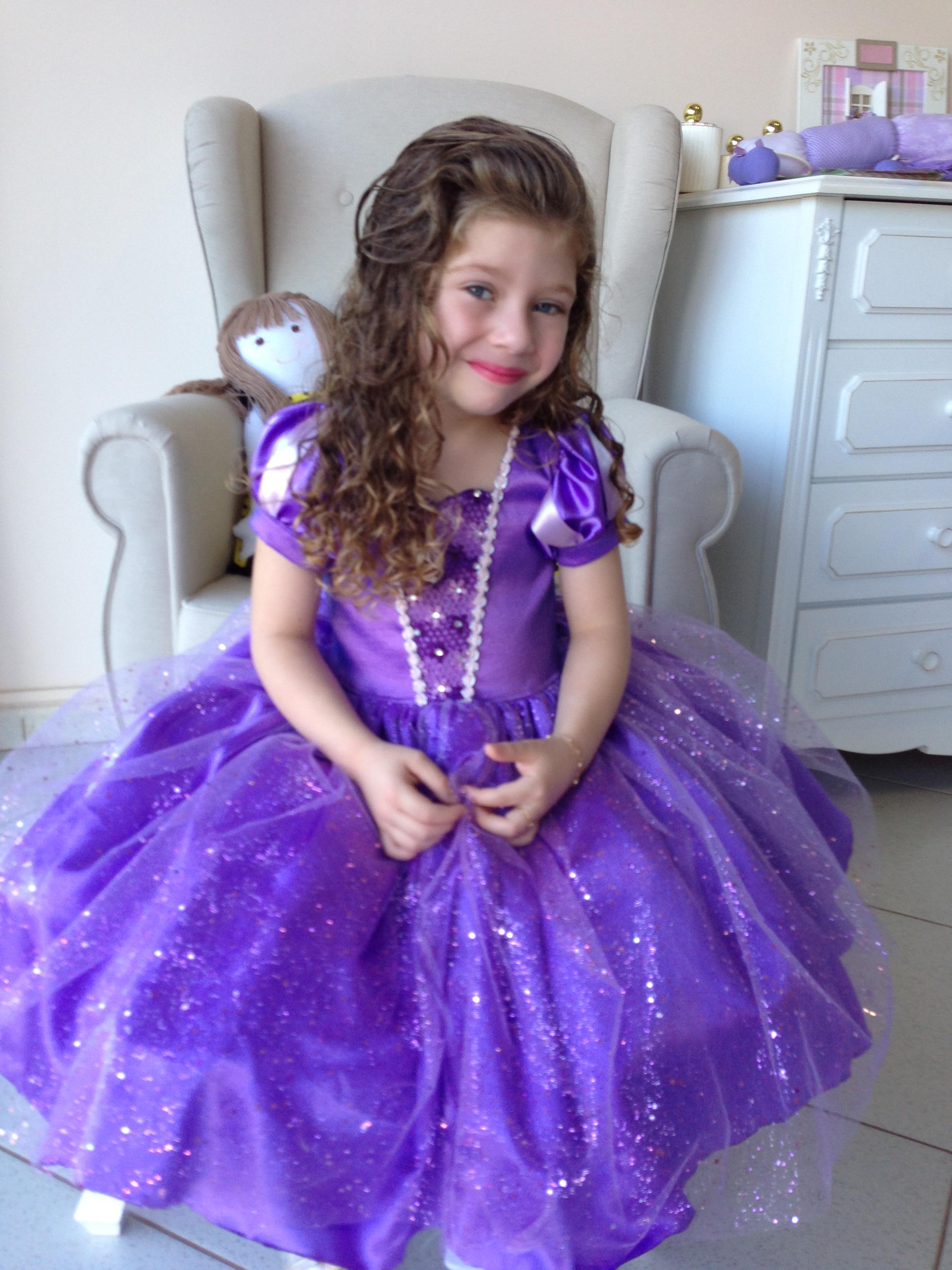 Fantasia Princesa Sofia Vestidos | Elo7