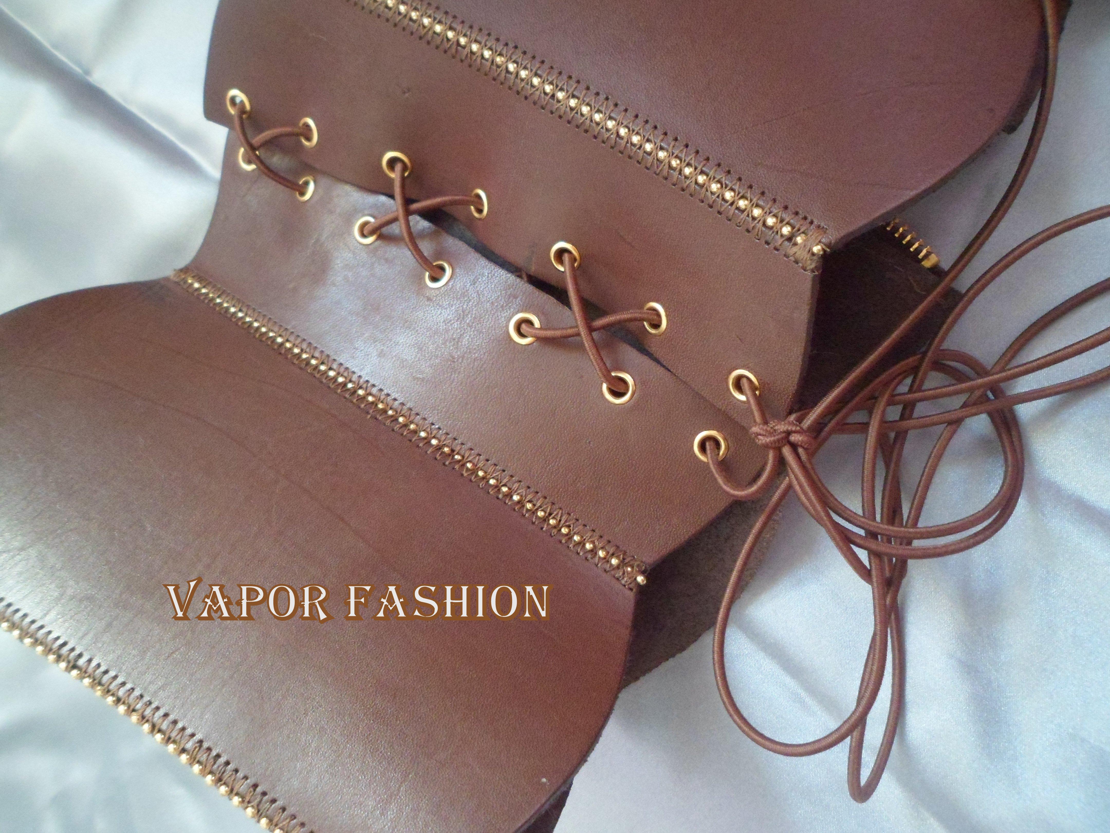 c96ad76e591a28 Cinto corselet de couro – Roupa de banho