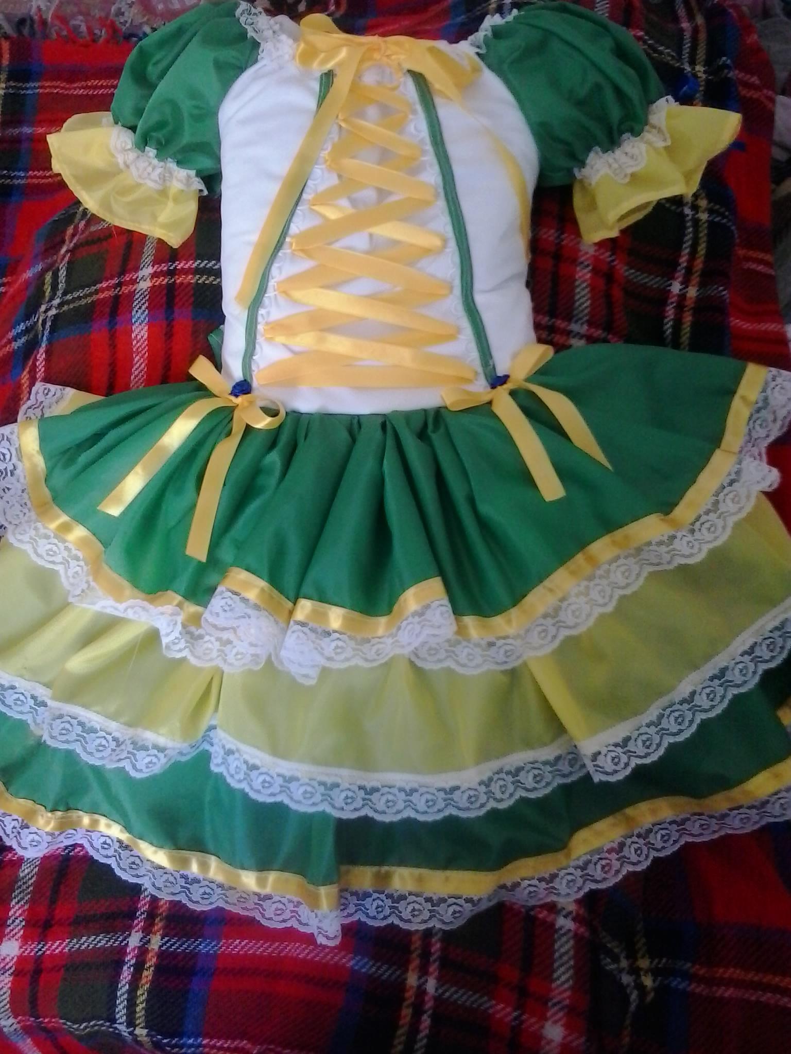 Vestido para festa junina como fazer