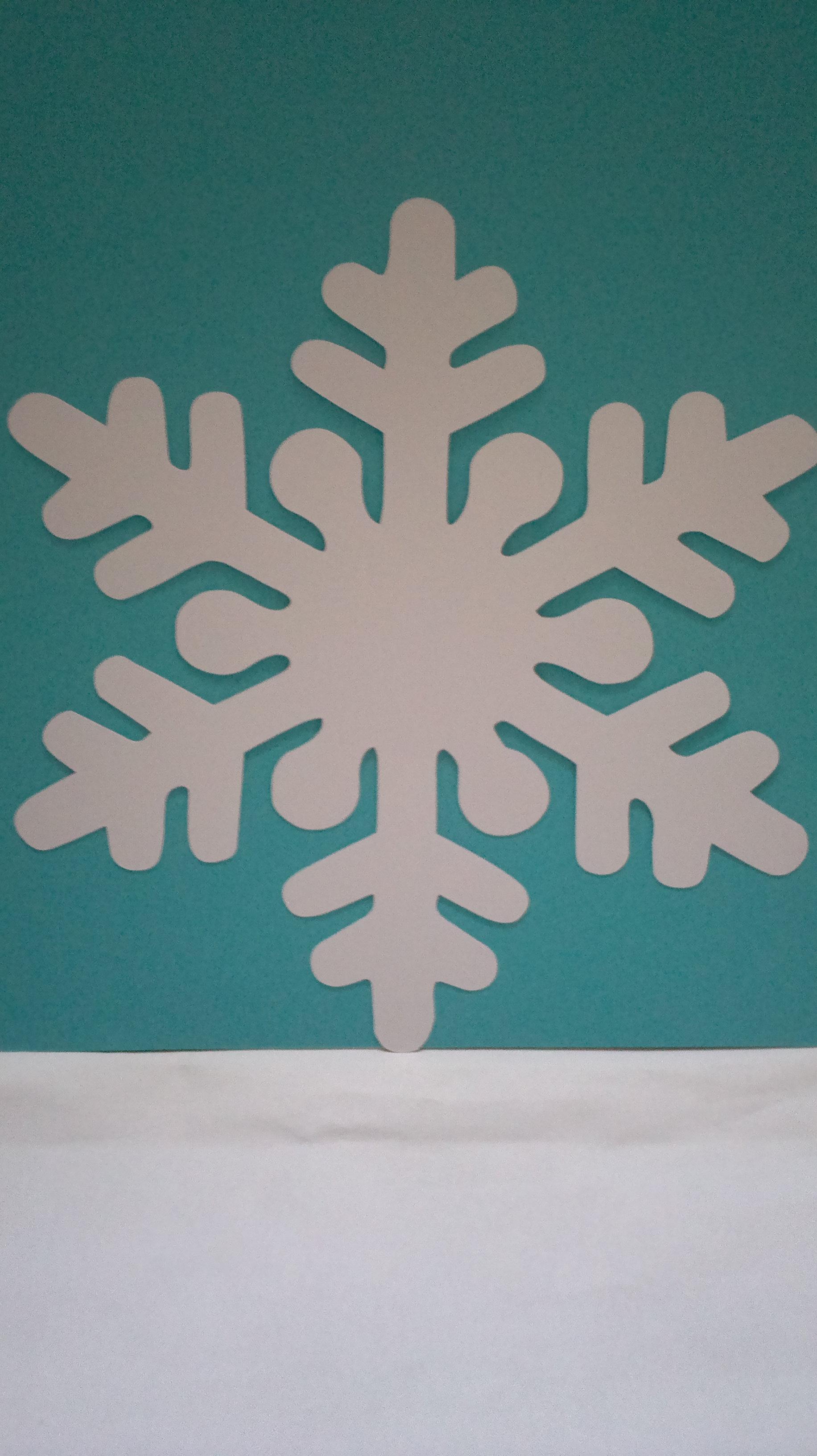 Aparador Sala De Jantar ~ Festa Frozen Kit Flocos de Neve Cenarium Elo7