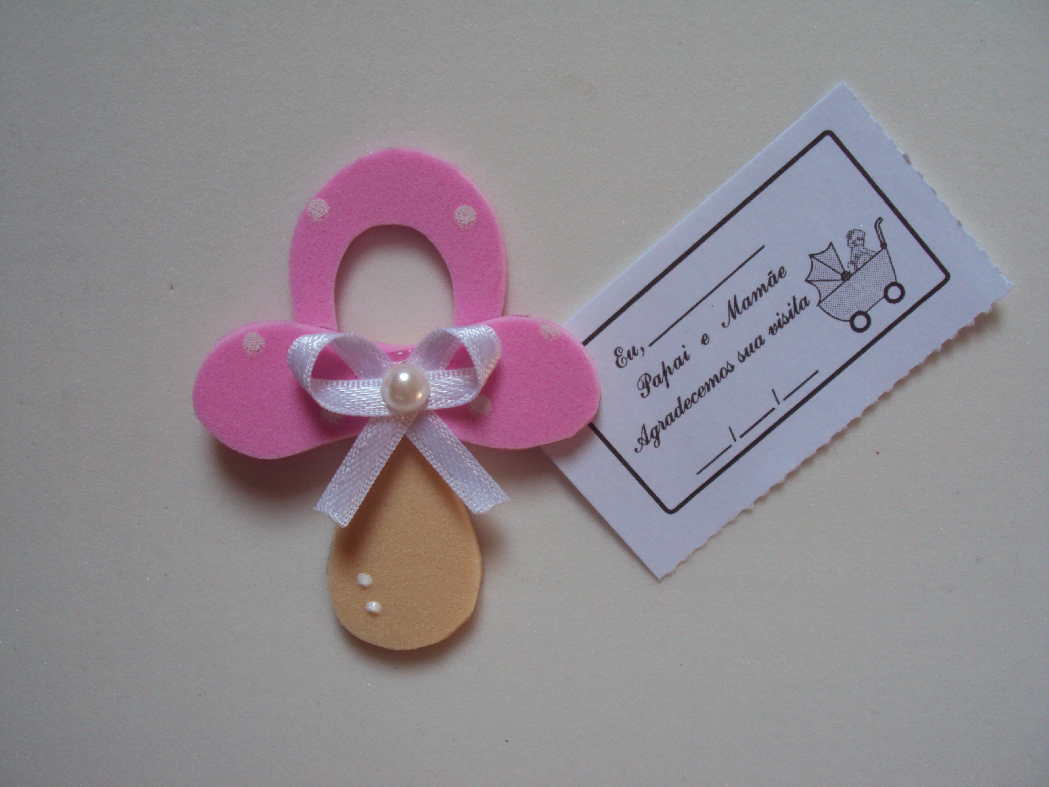 Lembrancinha de maternidade em EVA 012