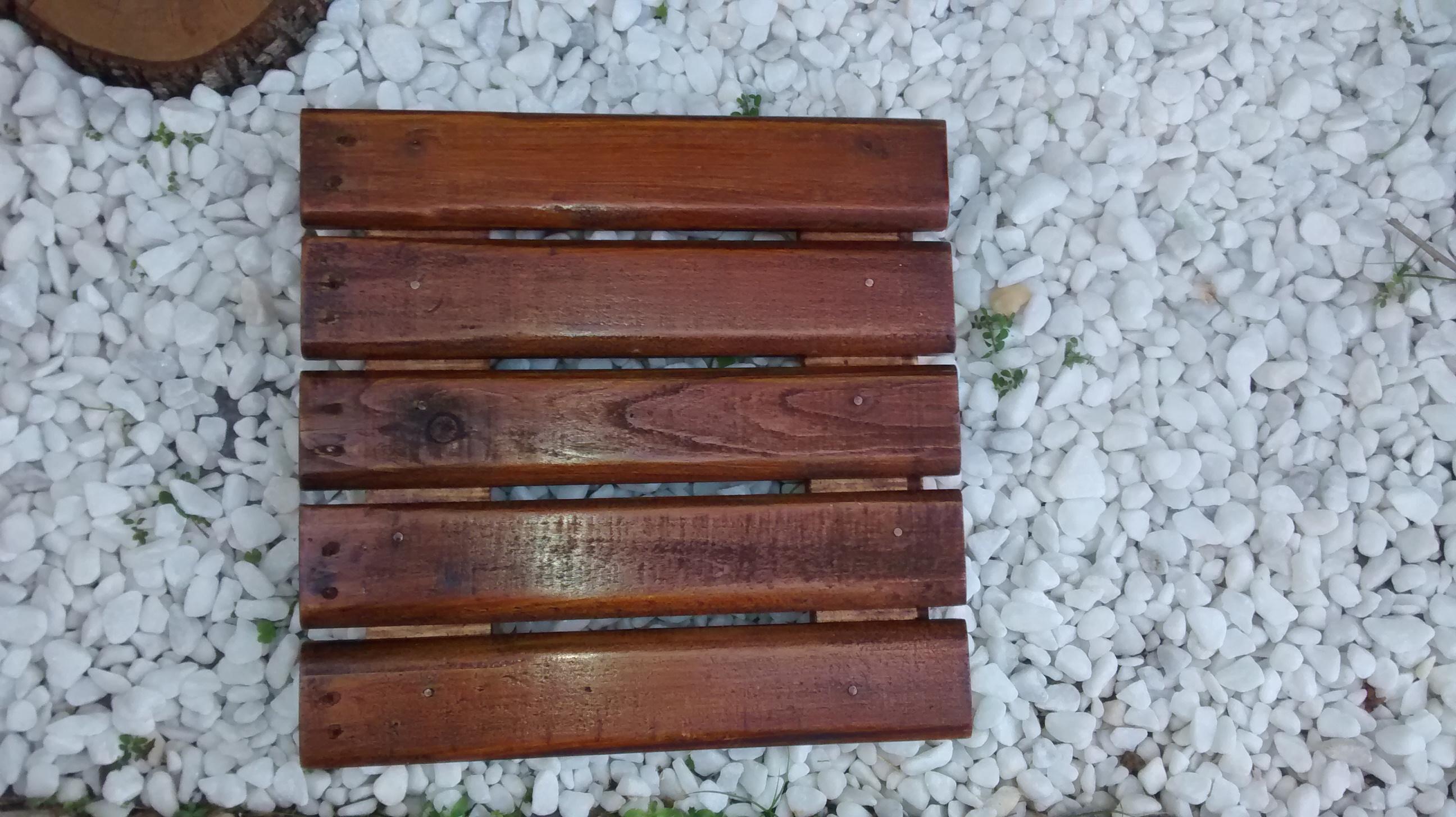 Deck De Madeira Piso Ou Parede Palletzando Elo7
