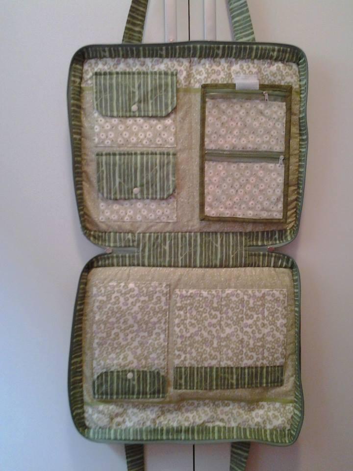 Bolsa Em Tecido Patchwork Passo A Passo : Projeto bolsa para material de costura patchwork by