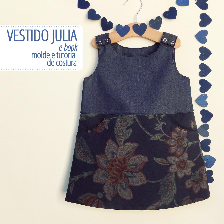 c949c45af8 Vestido Julia - PDF DIGITAL moldes e tutorial no Elo7