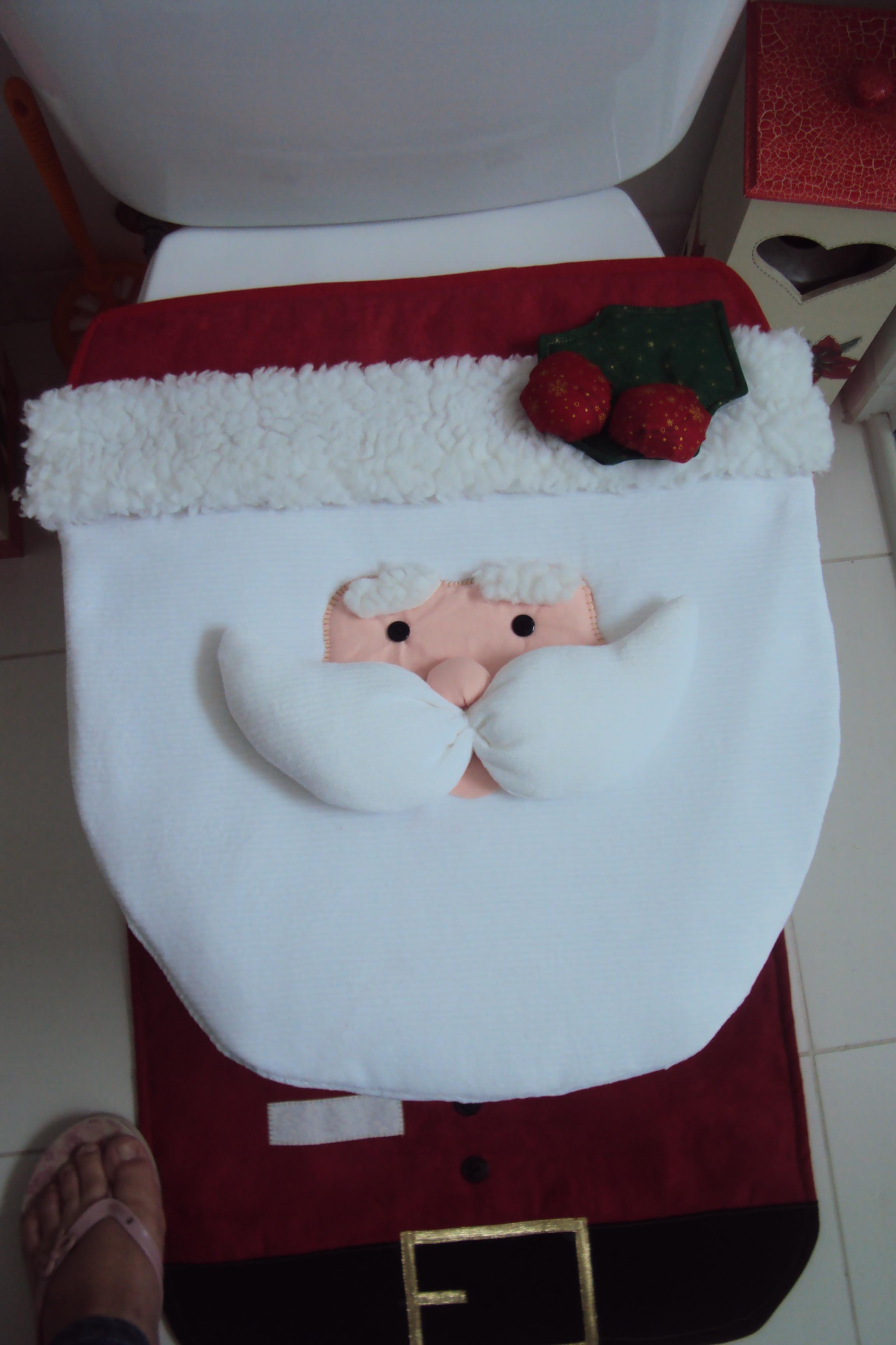 Jogo De Banheiro Natal 3 Pecas