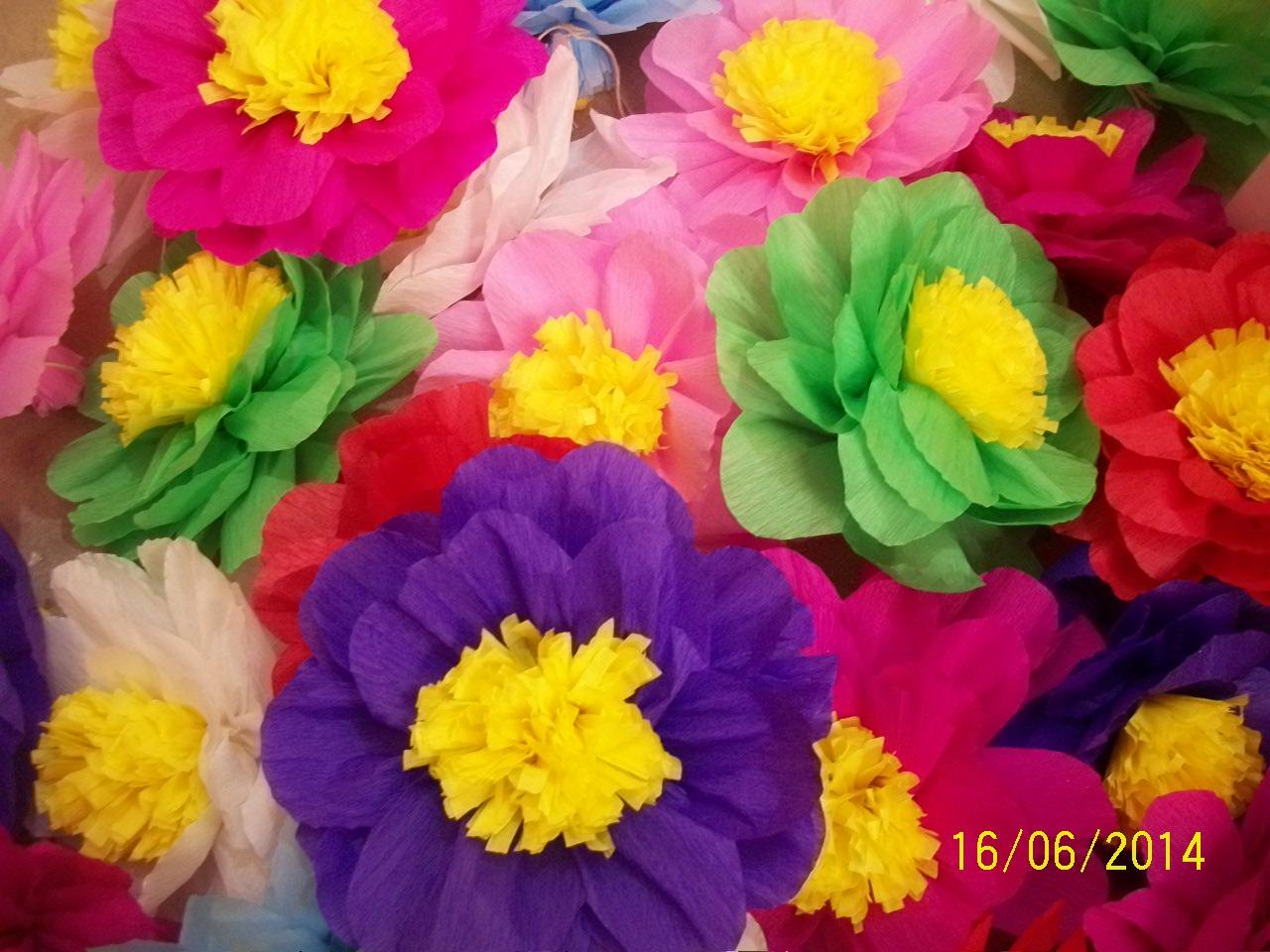 Flores para Festa Junina Amanda Artes u00e3 Elo7 -> Decoração De Flores Festa