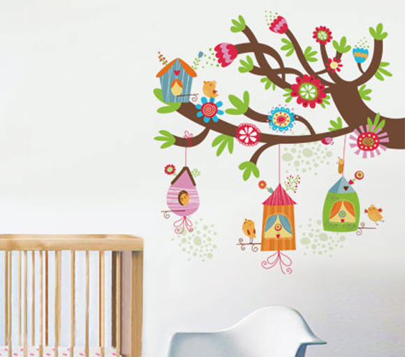 Adesivo Para Furo De Orelha ~ Adesivo de Parede InfantilÁrvore Balihai Stickers Elo7