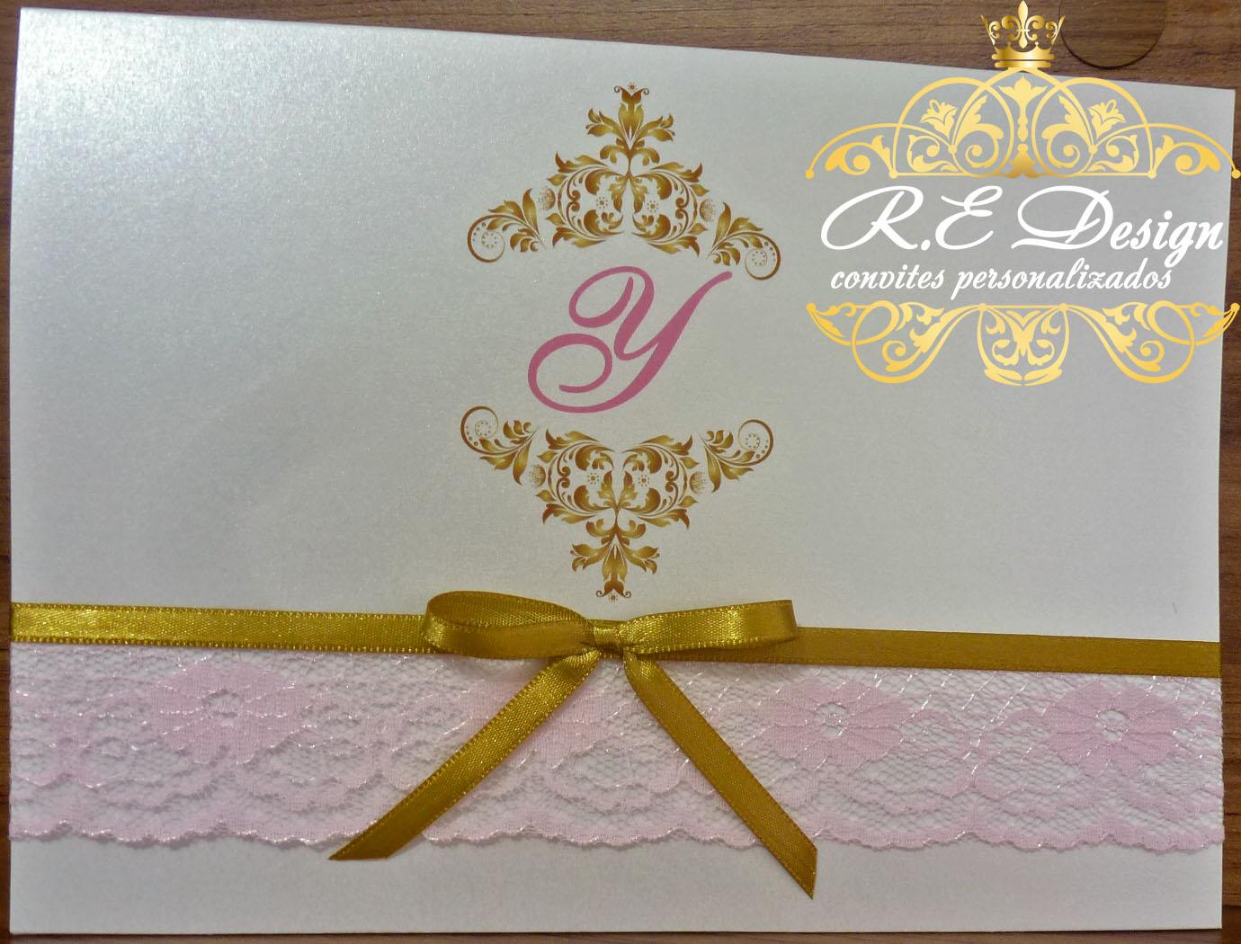 Convite para 15 anos no Elo7 | R.E Design Convites Personalizados (420C3C)