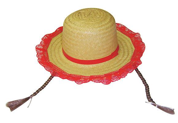 Chapeu para Festa Cowboy de Palha  8733b2df596