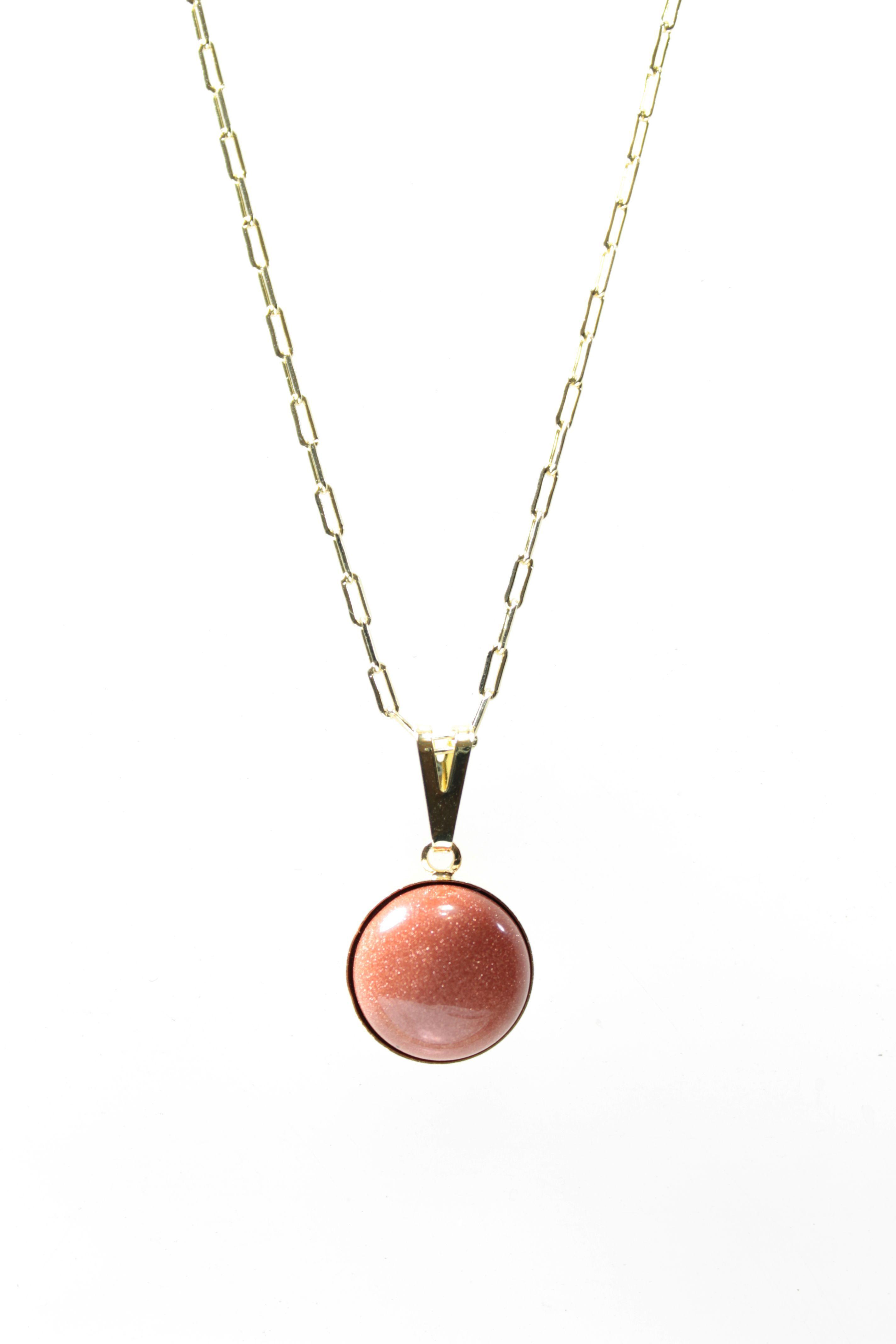 c337a4ab212fd Colar Duplo Pedra do Sol e Pingente   Elo7
