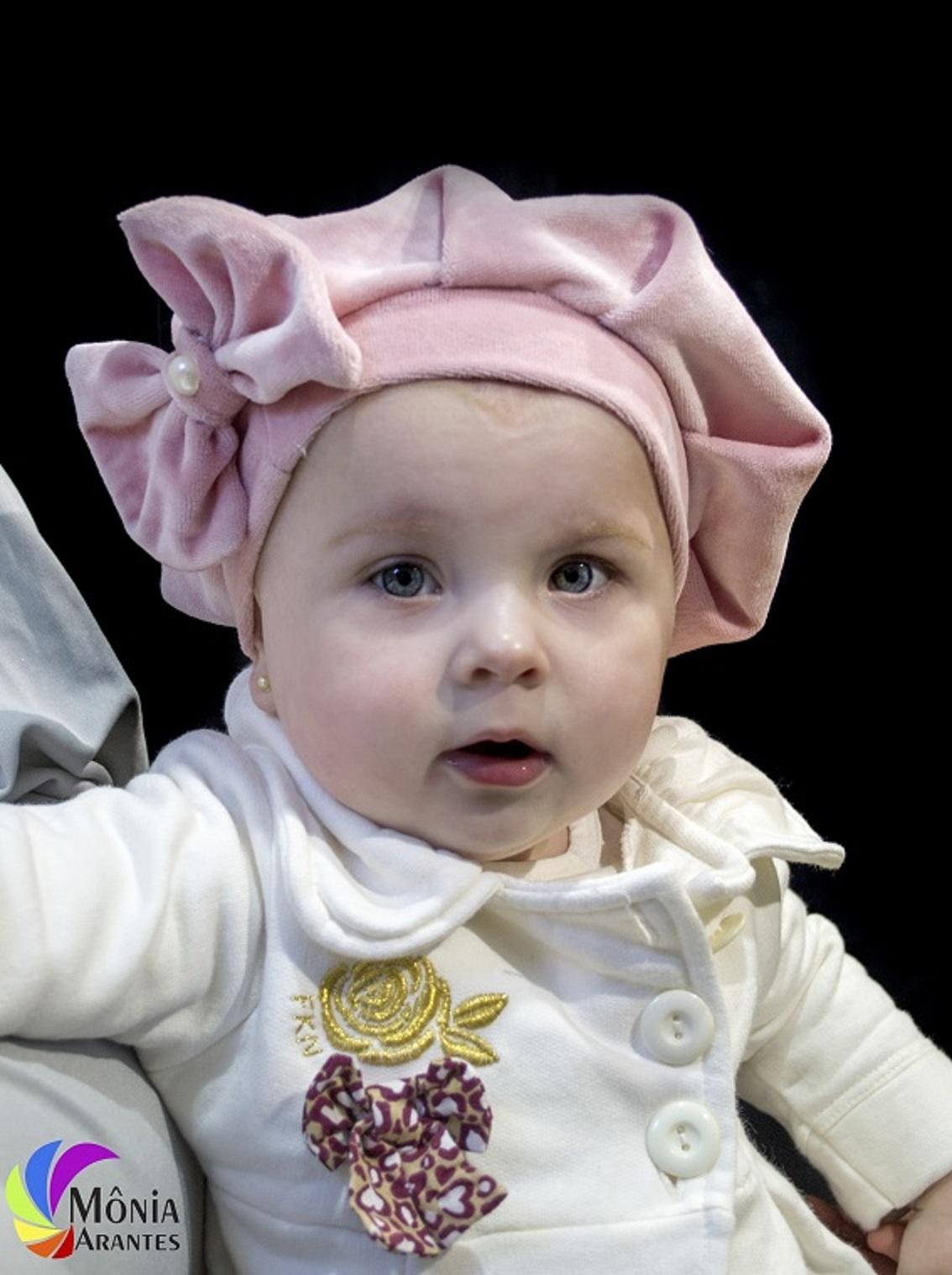 990f1b0dc3d67 Boina Infantil Rosa Bebê no Elo7