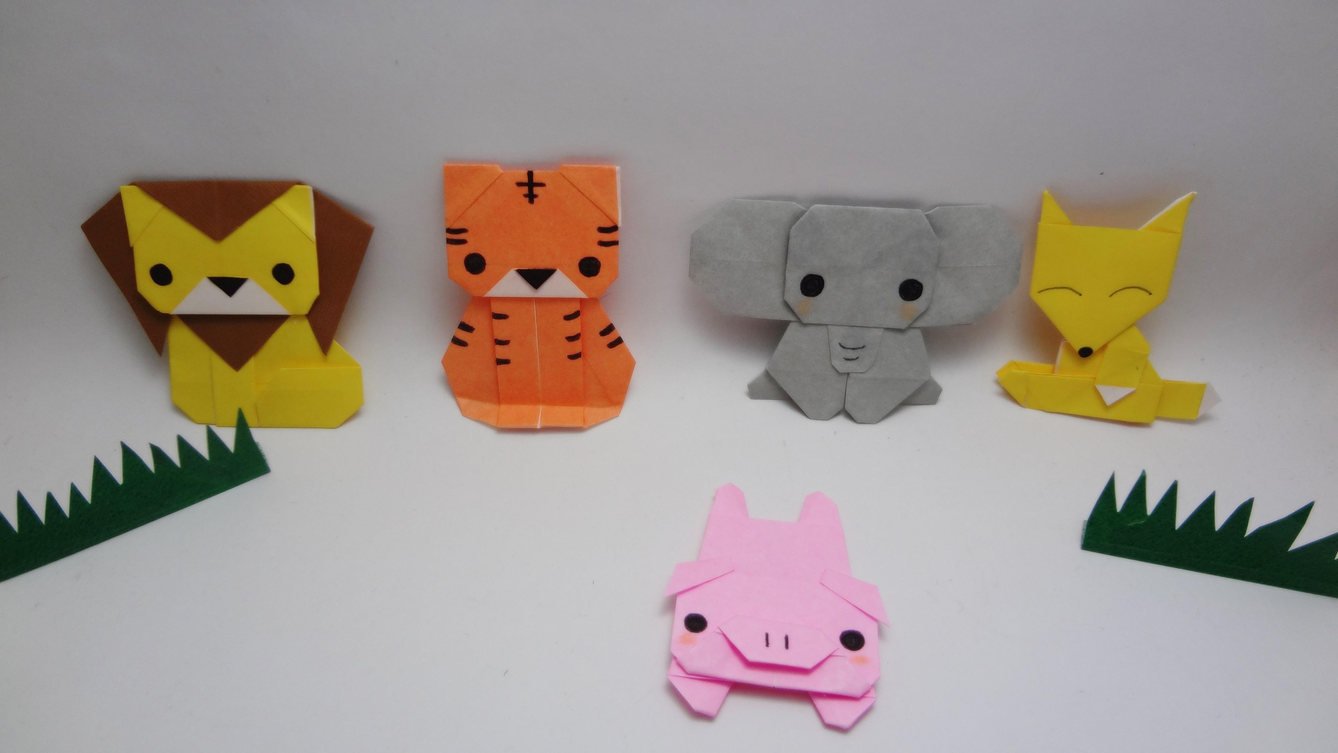 Populares Animais de Origami no Elo7 | Art Omura (4264B2) ID81