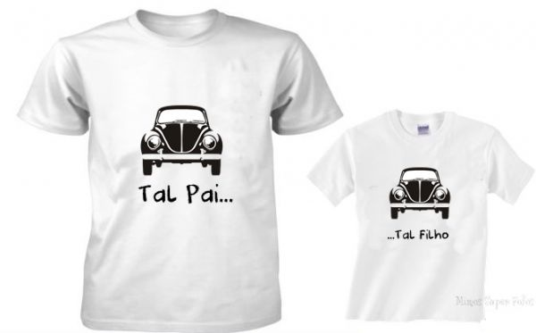10255208ae68 KIT CAMISETAS - TAL PAI - TAL FILHO no Elo7 | STORE FOR BABIES (427CD4)