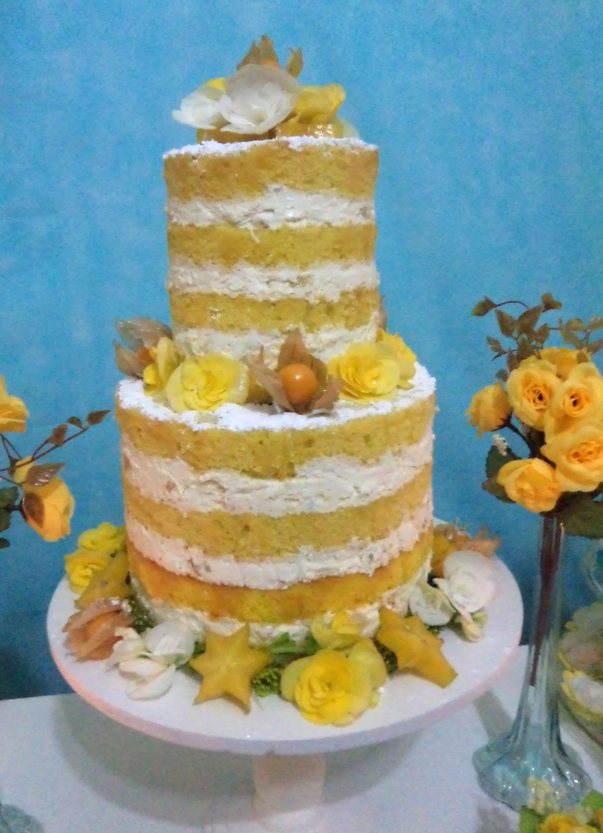 Naked Cake  Atelier Mirucha Flore - Cake Designer  Elo7-5807