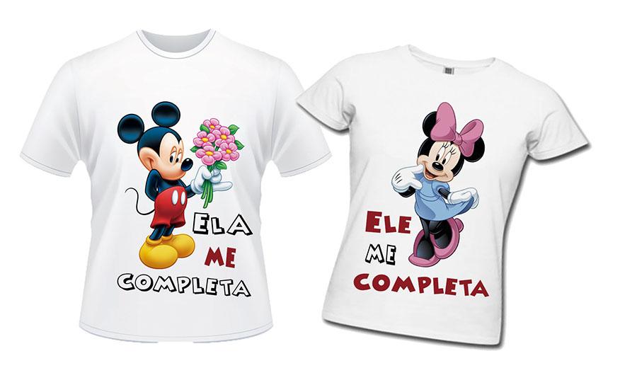 0267a48906 Camisas personalizadas Ele Ela  PROMOÇAO no Elo7