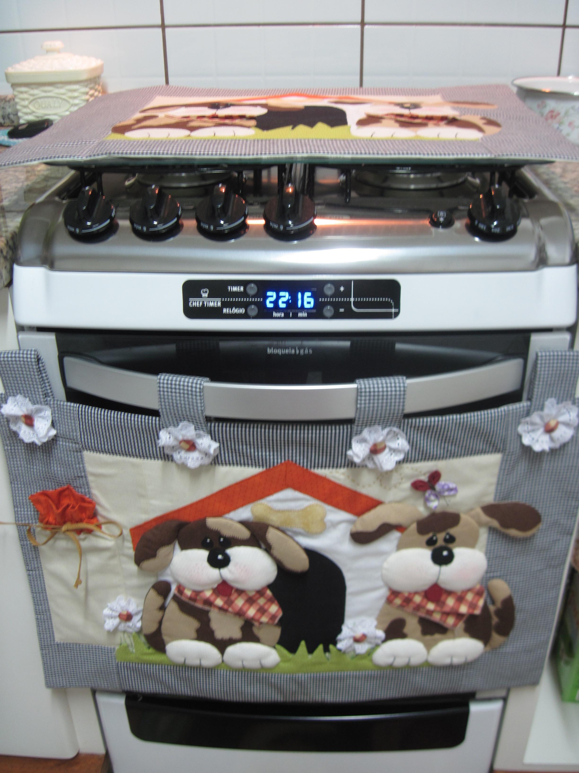 Cobre forno 6 5 4 bocas 2 pe as arteacalanto elo7 - Decoracion de cocina con vacas ...
