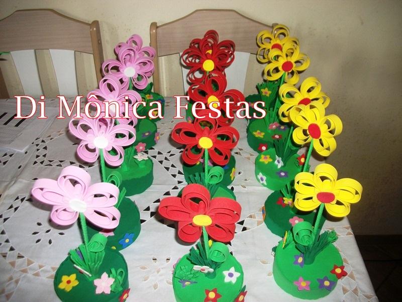 Enfeite De Jardin ~ Enfeite De Mesa Jardim Encantado Madammeh M Festas Elo7