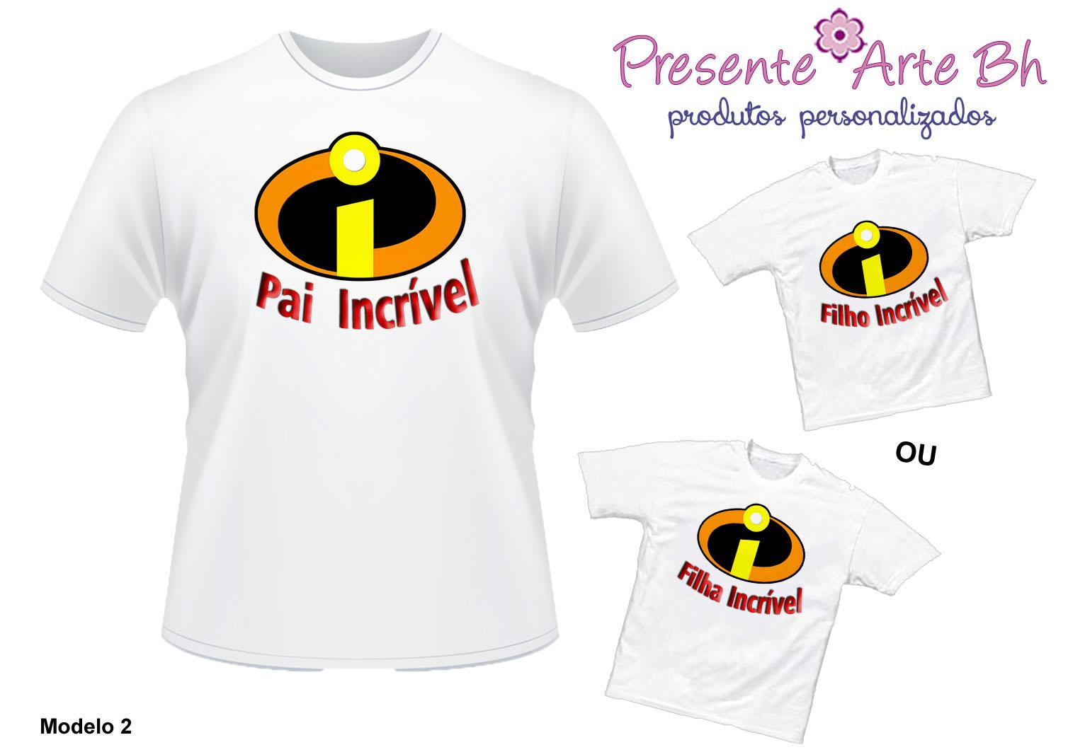 Dia Dos Filhos: Camisas Pai E Filhos - Super Heróis
