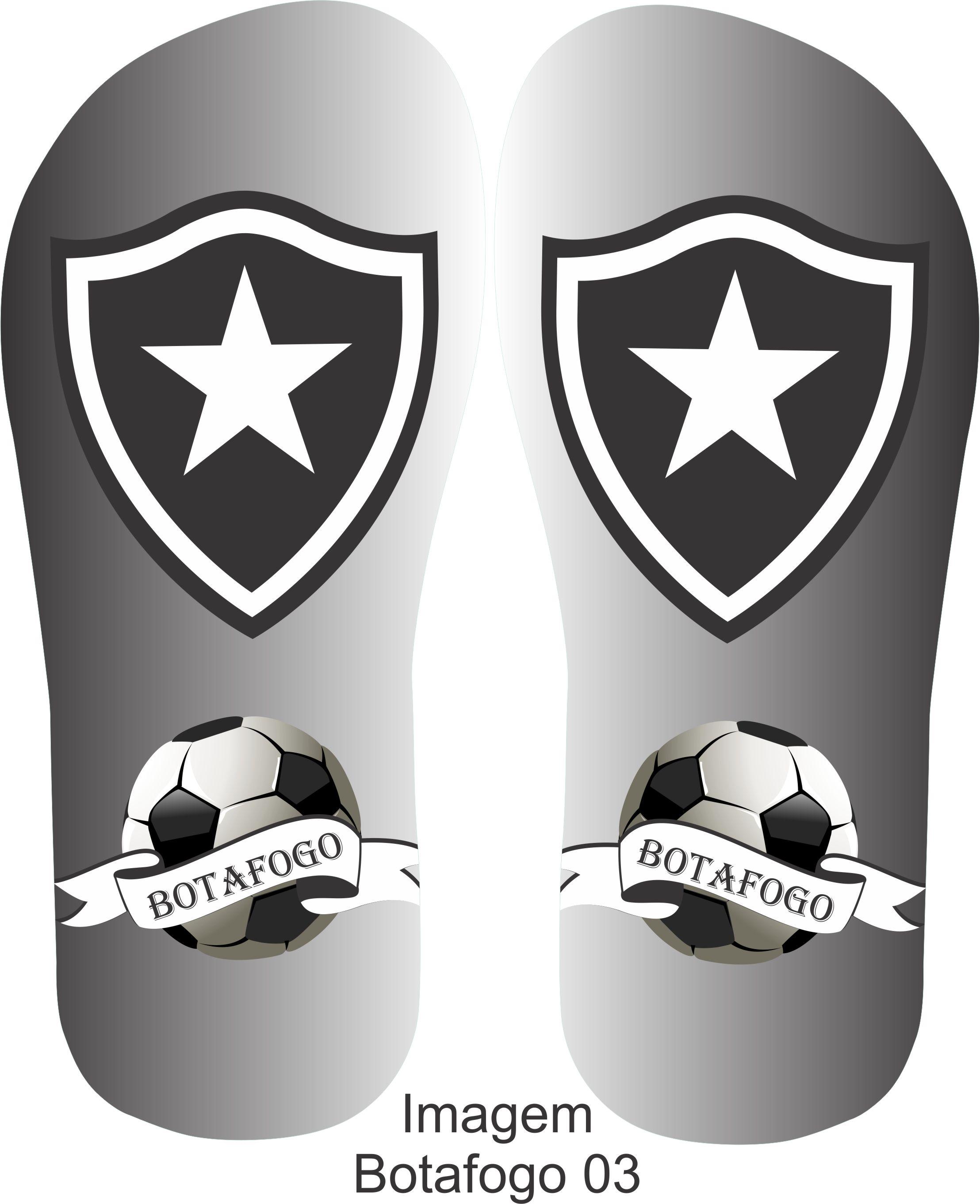 Chinelos Personalizados Botafogo no Elo7  d23c498242a9d
