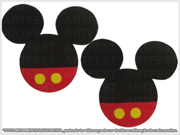 Aplique Capa De Pirulito Em Eva Mickey No Elo7 Artfest 43e614